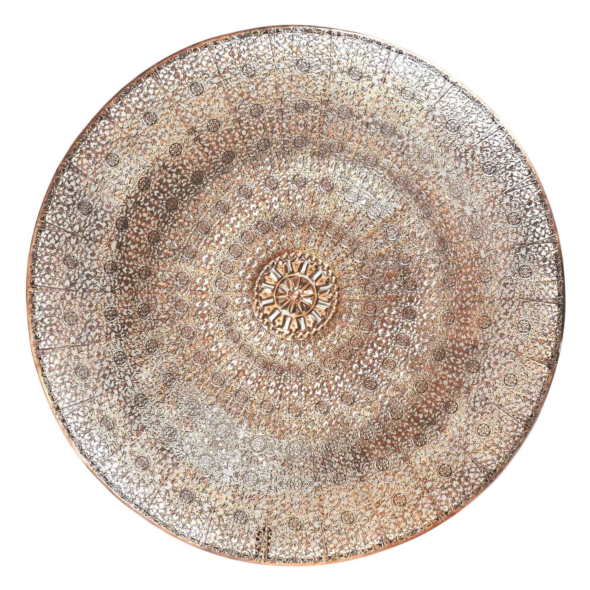 Moroccan Wall Art Silver Dish Wall Art Moroccan Style Metal Wall Art With Regard To Moroccan Wall Art (View 20 of 20)