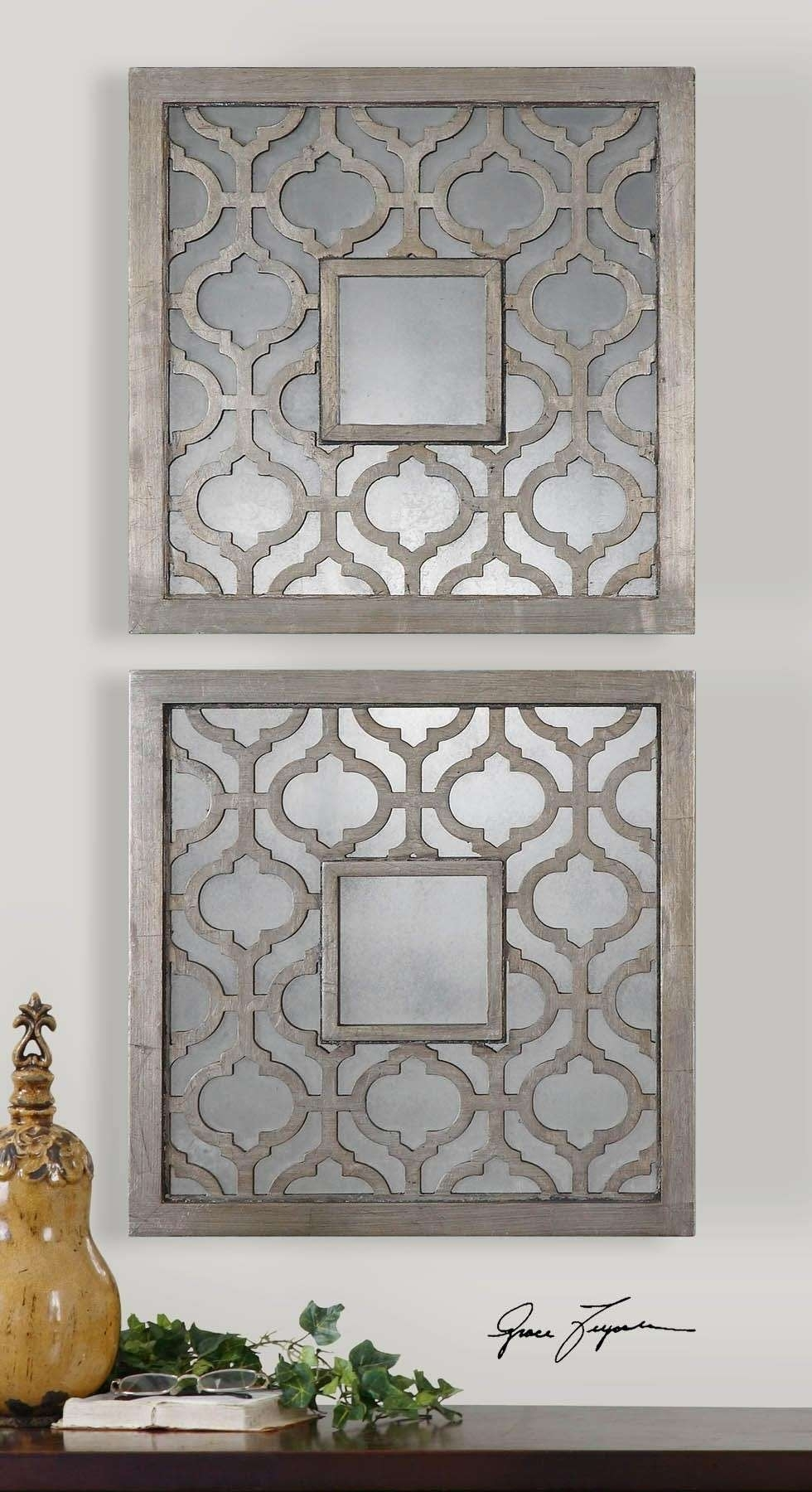 Moroccan Wall Decor Elegant Multi Piece Metal Art Image Noticeable Intended For Moroccan Wall Art (View 18 of 20)
