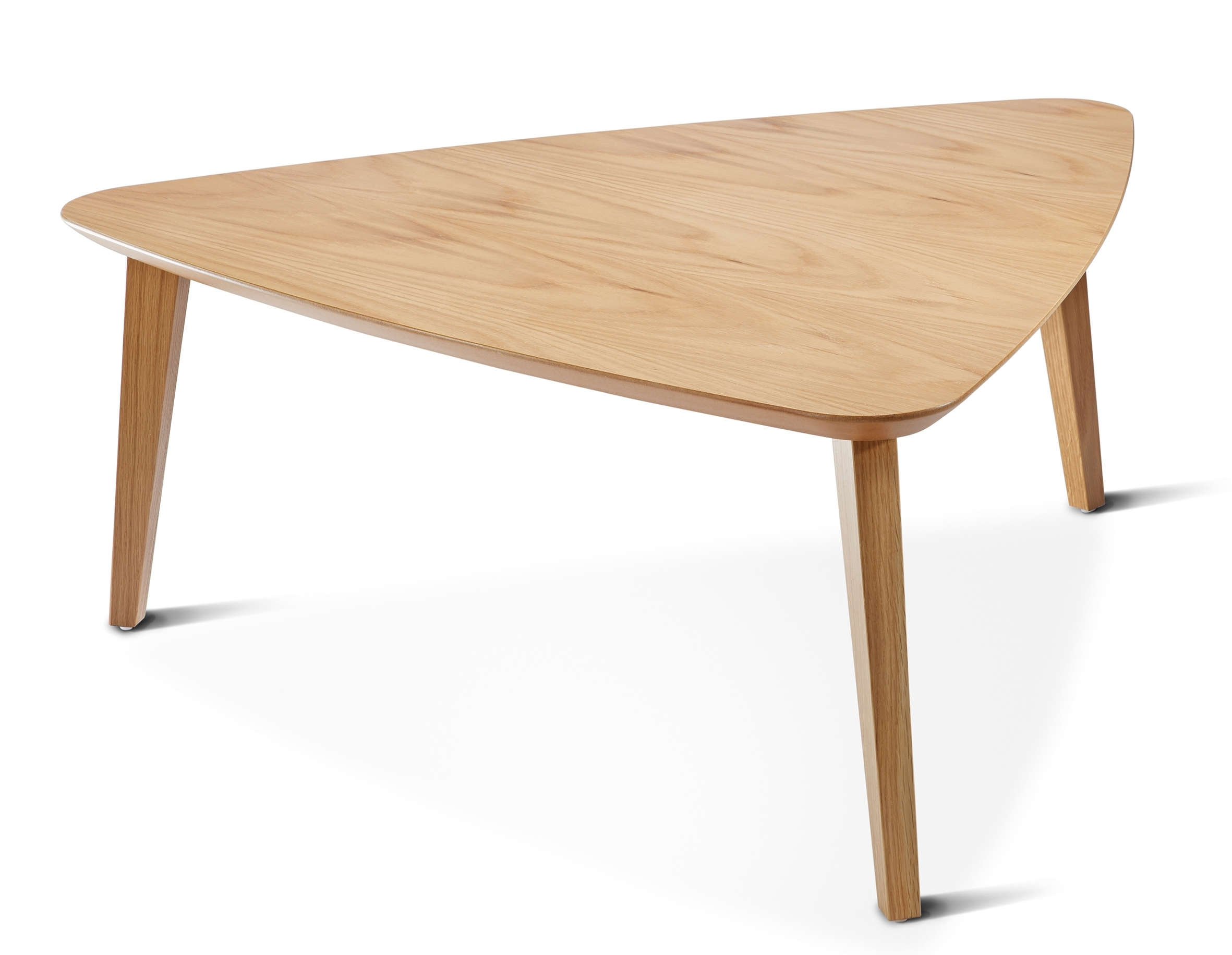 Mortimer Triangular Coffee Table – Tmoc/tri | Connection In Contemporary Curves Coffee Tables (View 20 of 30)
