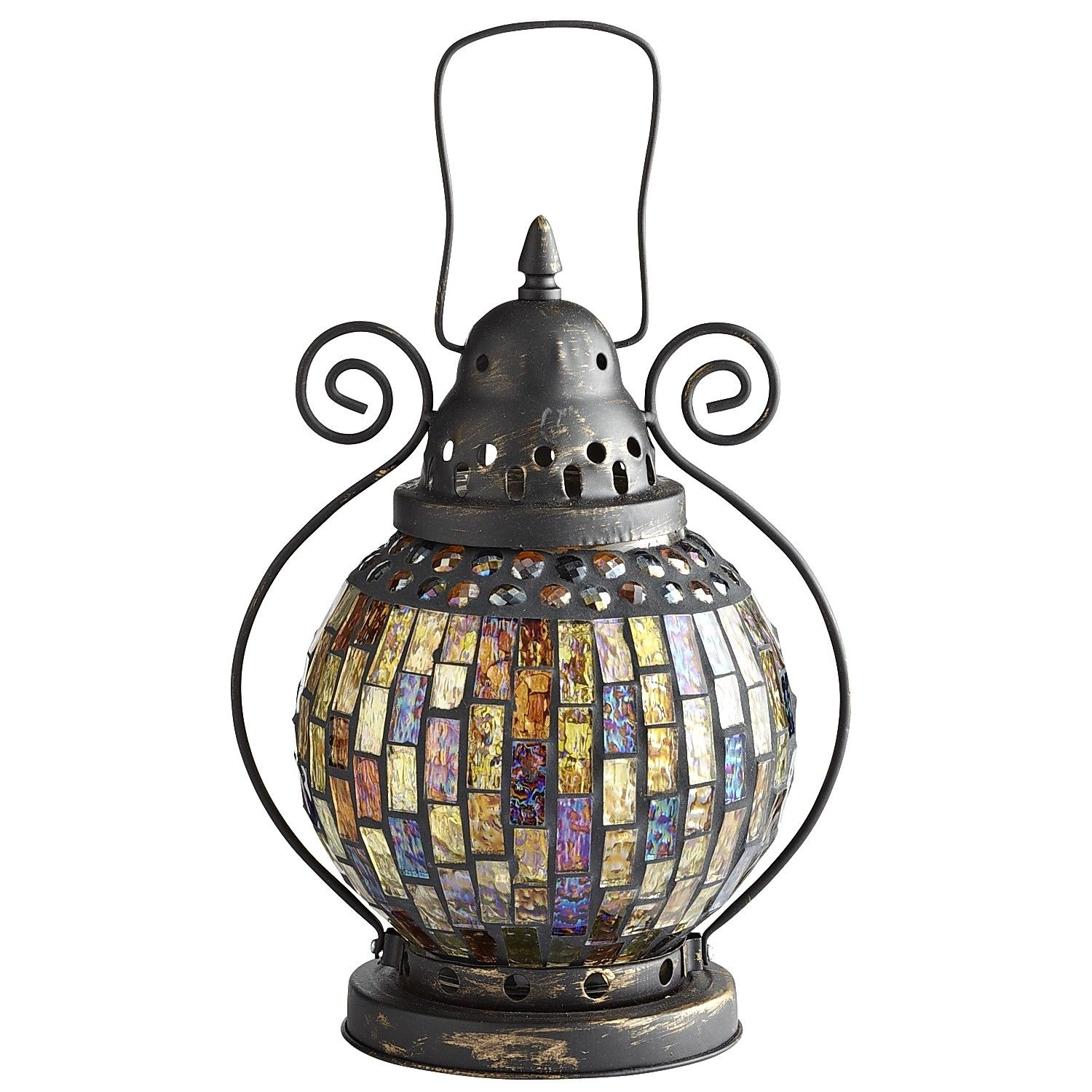 Mosaic Lantern | Dh Lighting | Pinterest | Mosaics And Craft Pertaining To Outdoor Mosaic Lanterns (View 13 of 20)