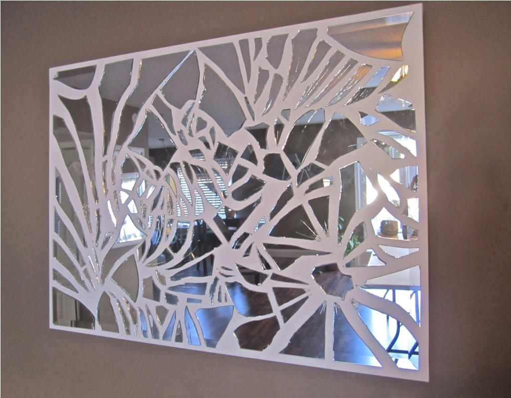 Mosaic Mirror Wall Decor Ideas : Mosaic Mirror Wall Decor Ideas Pertaining To Mirror Mosaic Wall Art (View 8 of 20)