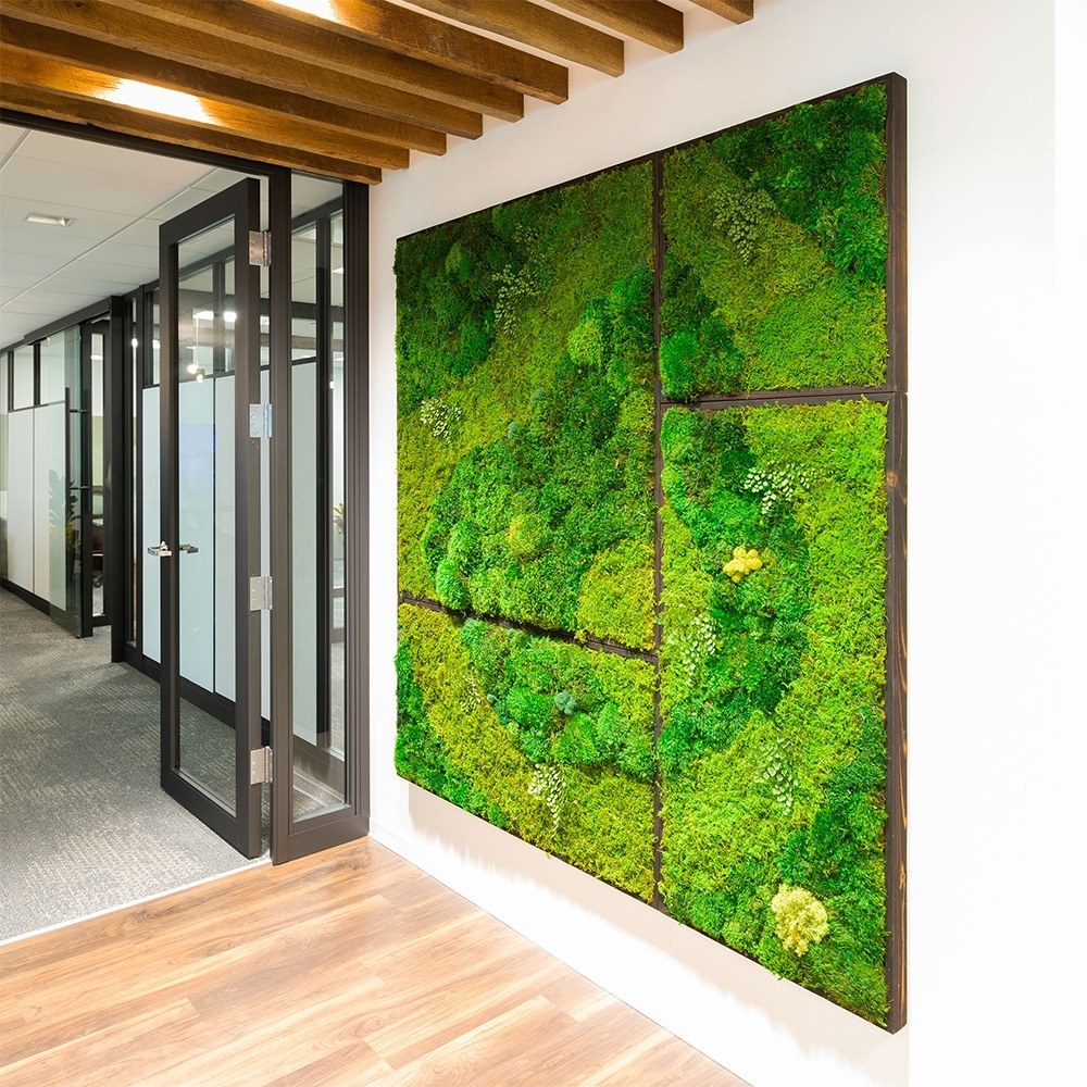 Moss Wall Artwabimoss | Green Wall Art For Your Interior Space. with regard to Moss Wall Art (Image 12 of 20)