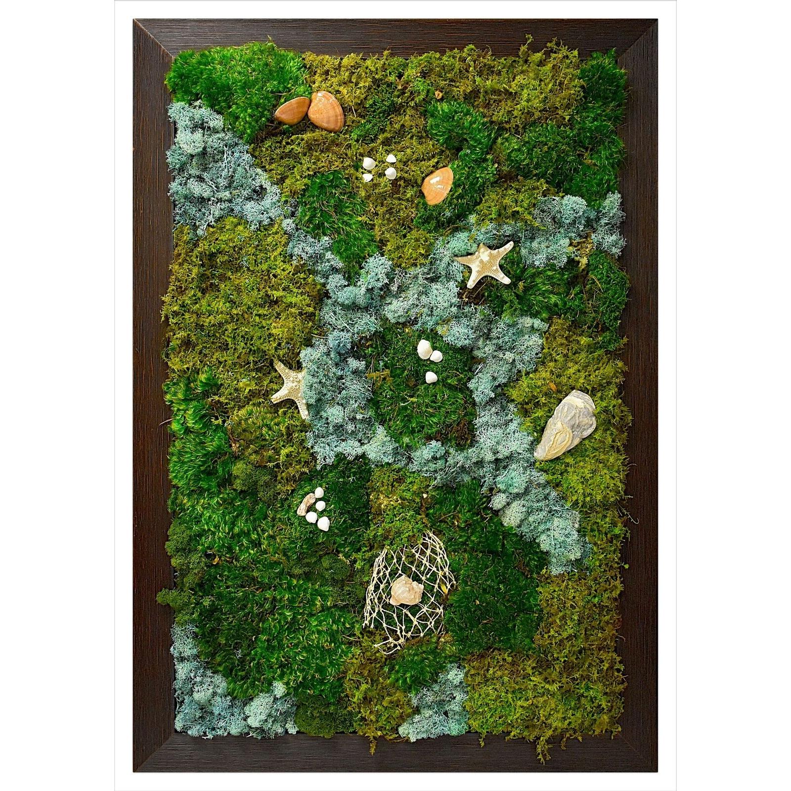 Moss Wall Ocean Art | Luludi Living Art | Kaufmann Mercantile within Moss Wall Art (Image 13 of 20)