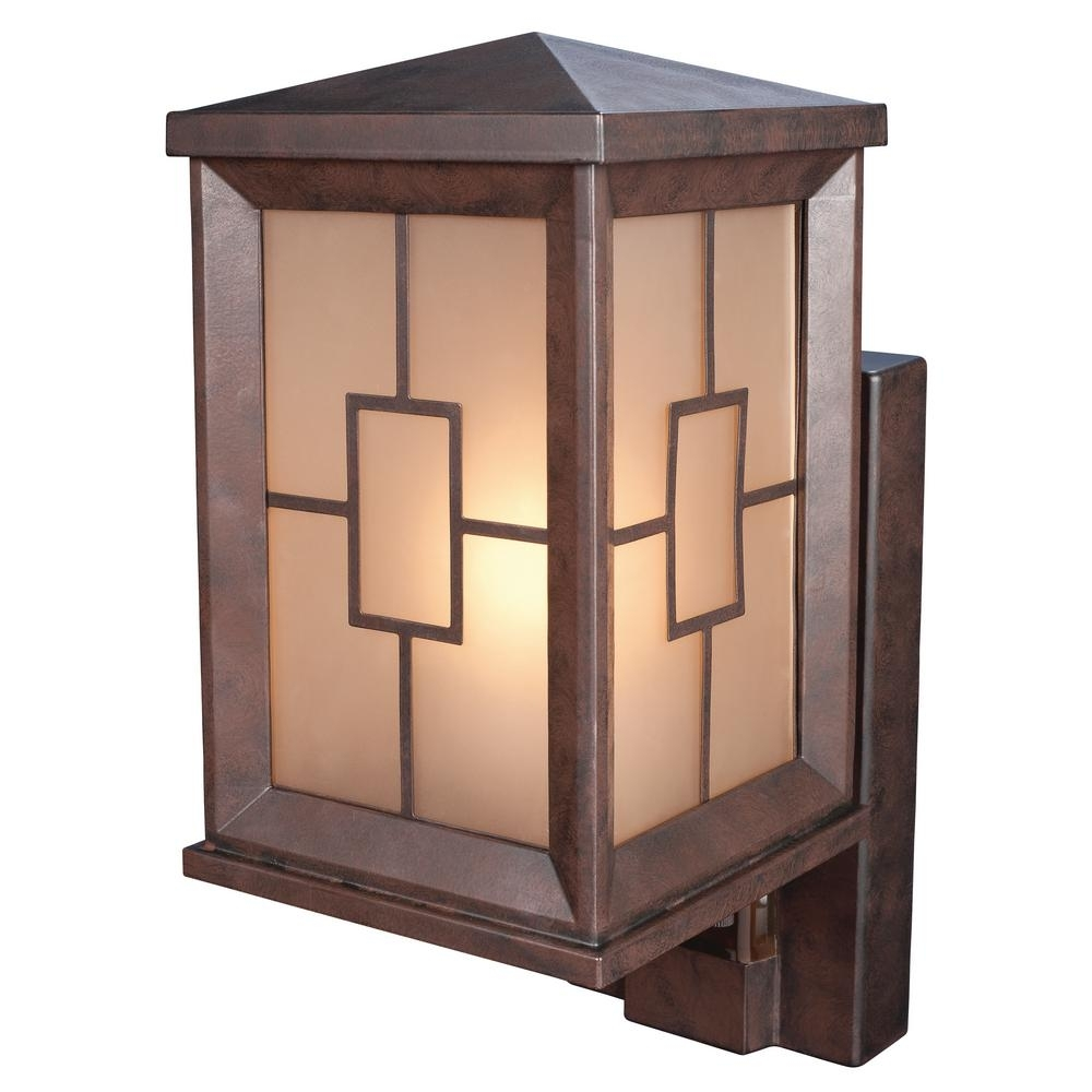 Motion Sensing – Outdoor Wall Mounted Lighting – Outdoor Lighting Pertaining To Outdoor Garage Lanterns (View 13 of 20)