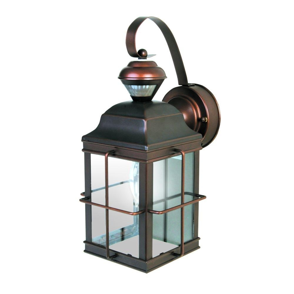 Motion Sensing - Outdoor Wall Mounted Lighting - Outdoor Lighting regarding Outdoor Motion Lanterns (Image 11 of 20)