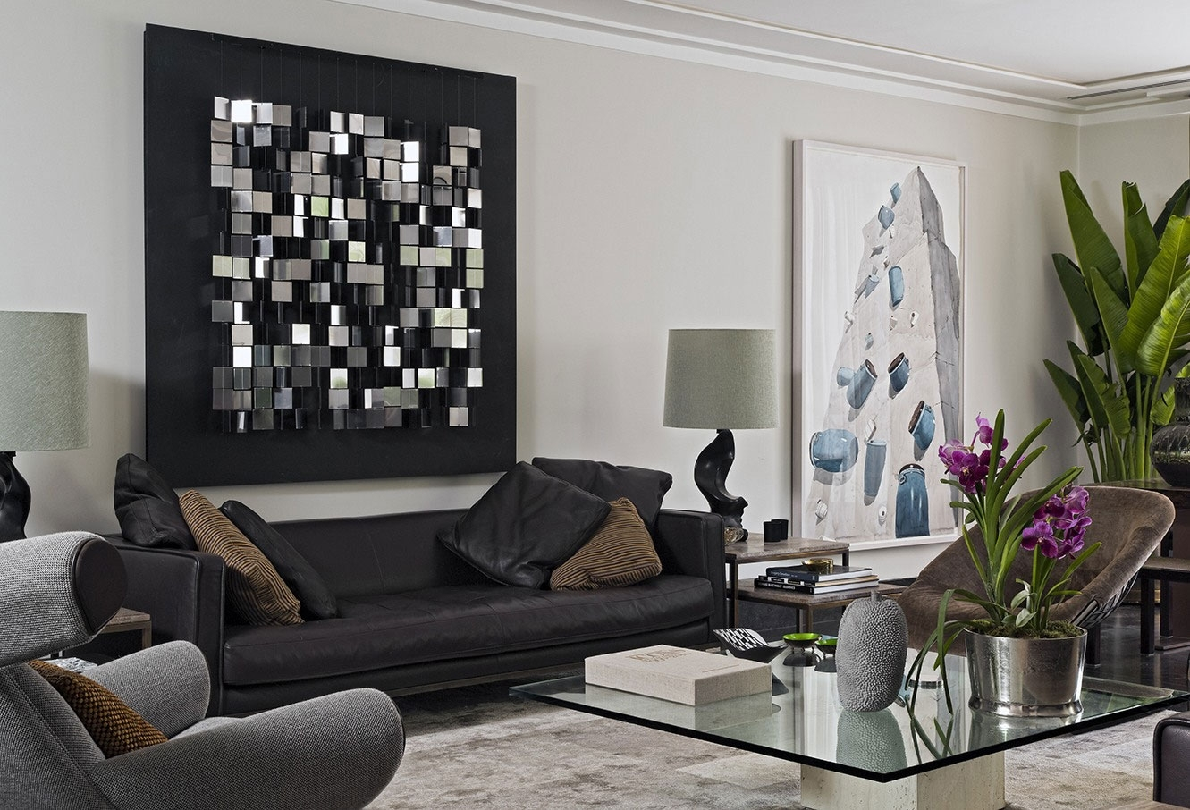 Mozaic Wall Art Decor For Living Room : Ideas Of Wall Art Decor For Inside Contemporary Wall Art Decors (View 11 of 20)