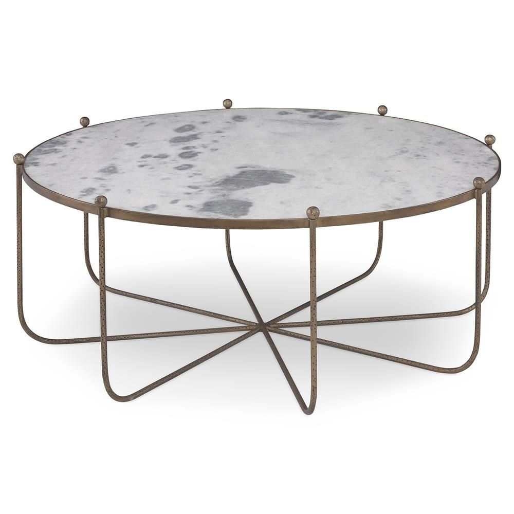 Mr. Brown Tangmere Global Marble Gold Spindle Coffee Table | Marbles for Cuff Hammered Gold Coffee Tables (Image 12 of 30)