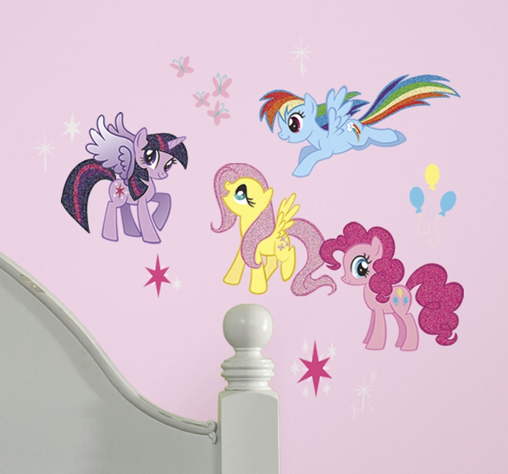 My Little Pony Peel And Stick Wall Decalsyork Wall Coverings in My Little Pony Wall Art (Image 9 of 20)