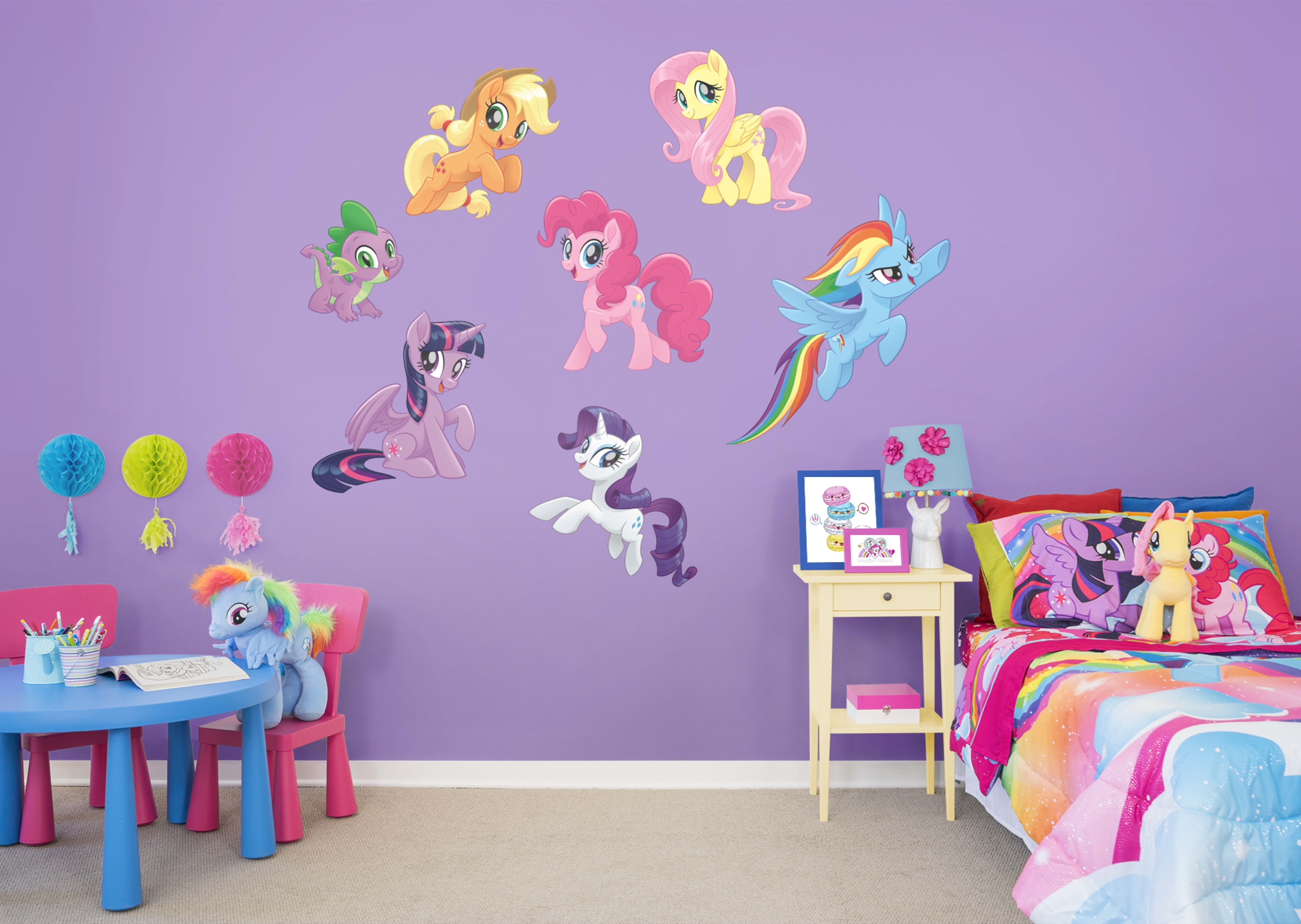 My Little Pony: The Movie - Collection -Giant Officially Licensed pertaining to My Little Pony Wall Art (Image 15 of 20)