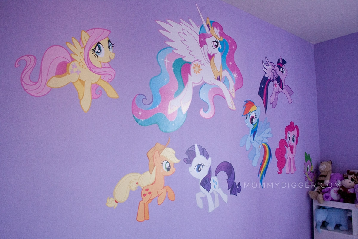 My Little Pony Wall Stickers Home Design, My Little Pony Wall Art With My Little Pony Wall Art (View 5 of 20)