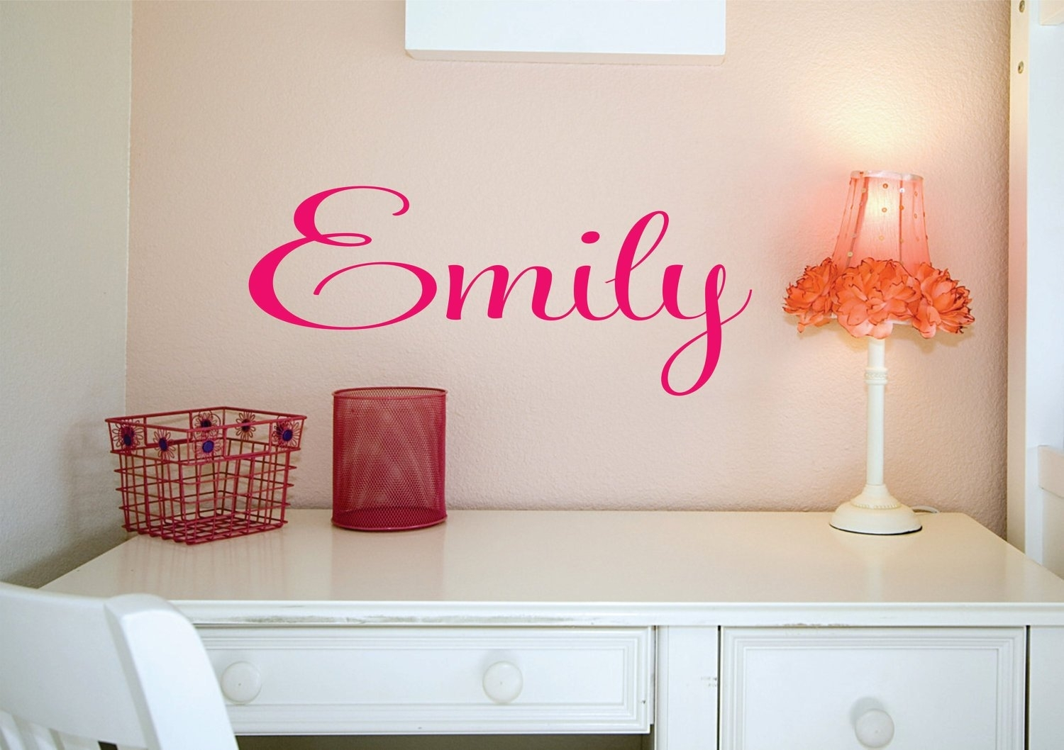 Name Sign, Custom Name Decal, Vinyl Decal, Wall Decals, Kids Room Within Name Wall Art (Photo 17 of 20)