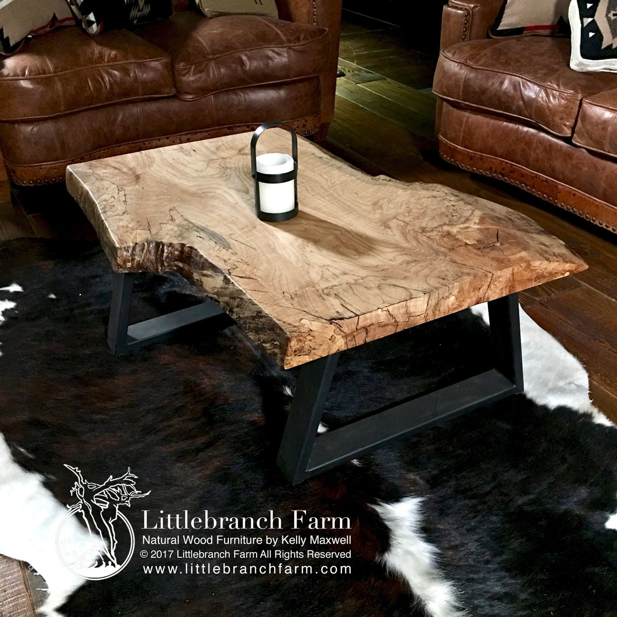 Natural Wood Coffee Tables - Rustic Coffee Table | Littlebranch Farm throughout Mill Large Coffee Tables (Image 18 of 30)