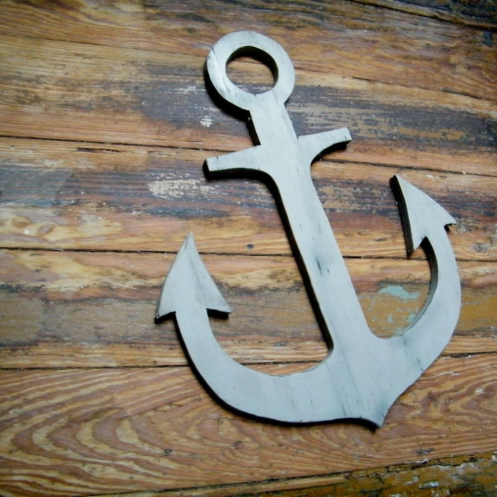 Nautical Anchor Wall Decor Inspirational Nautical Wall Decals inside Anchor Wall Art (Image 13 of 20)
