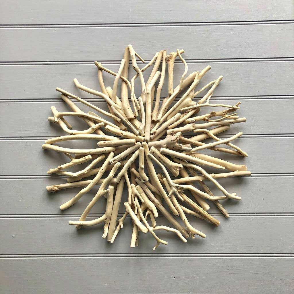 Nautical Driftwood Wall Artthe Nautical Home with regard to Driftwood Wall Art (Image 14 of 20)
