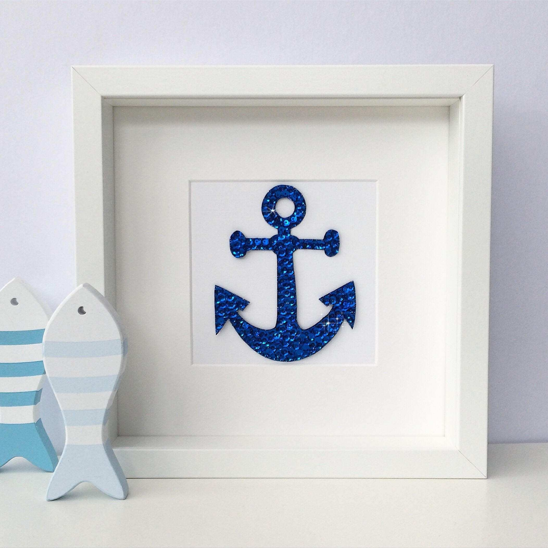 Nautical Wall Decor Awesome Anchor Art Nautical Decor Anchor Wall for Anchor Wall Art (Image 14 of 20)