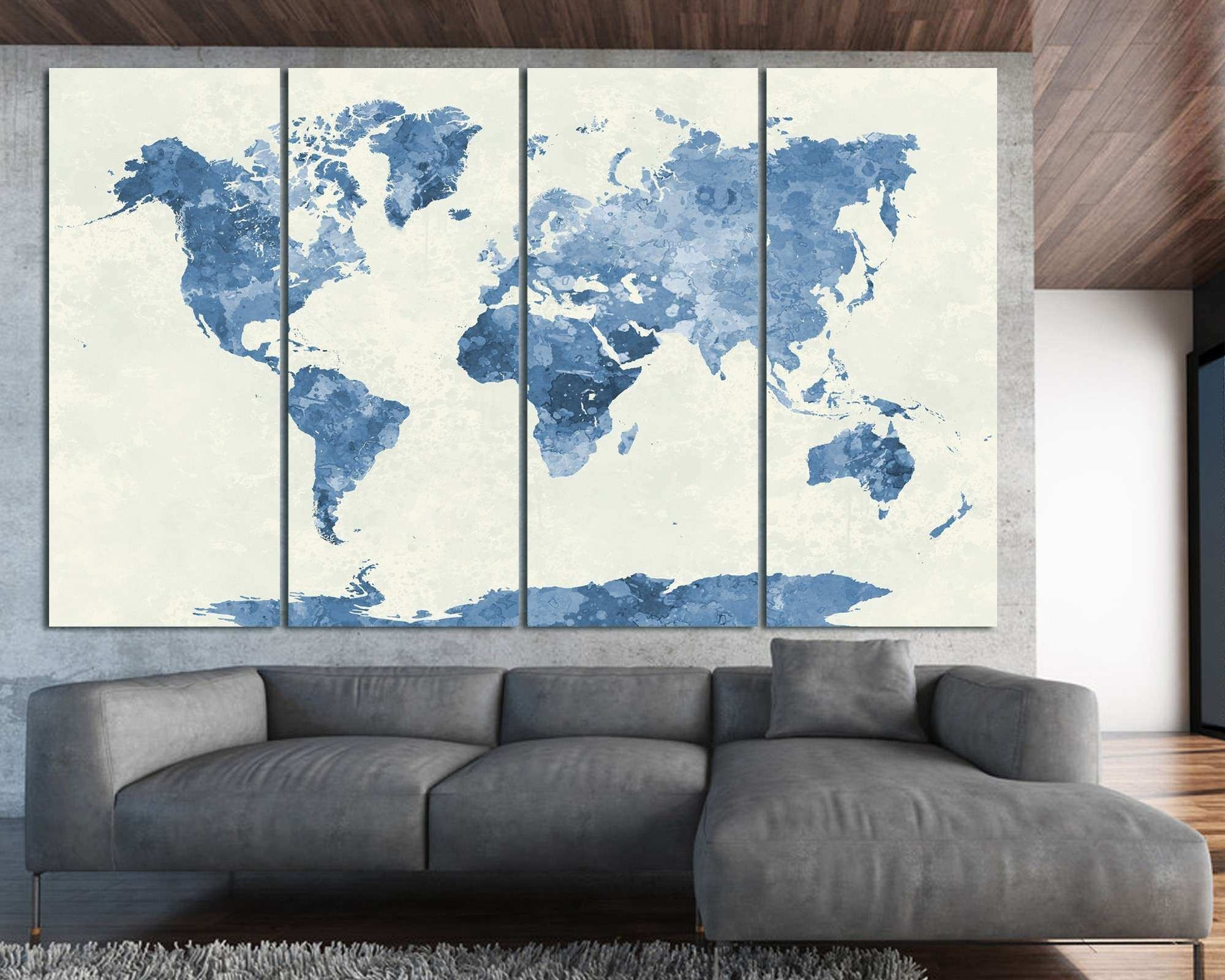 Navy Blue Canvas Wall Art Luxury Amazing Navy Blue Wall Art Bathroom pertaining to Navy Blue Wall Art (Image 9 of 20)