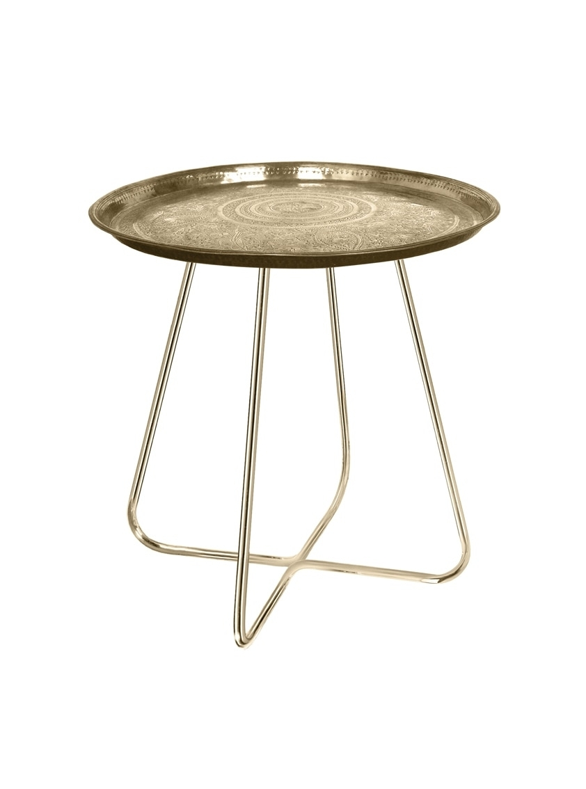 New Casablanca Table In Brass | Mineheart With Casablanca Coffee Tables (Photo 22 of 30)