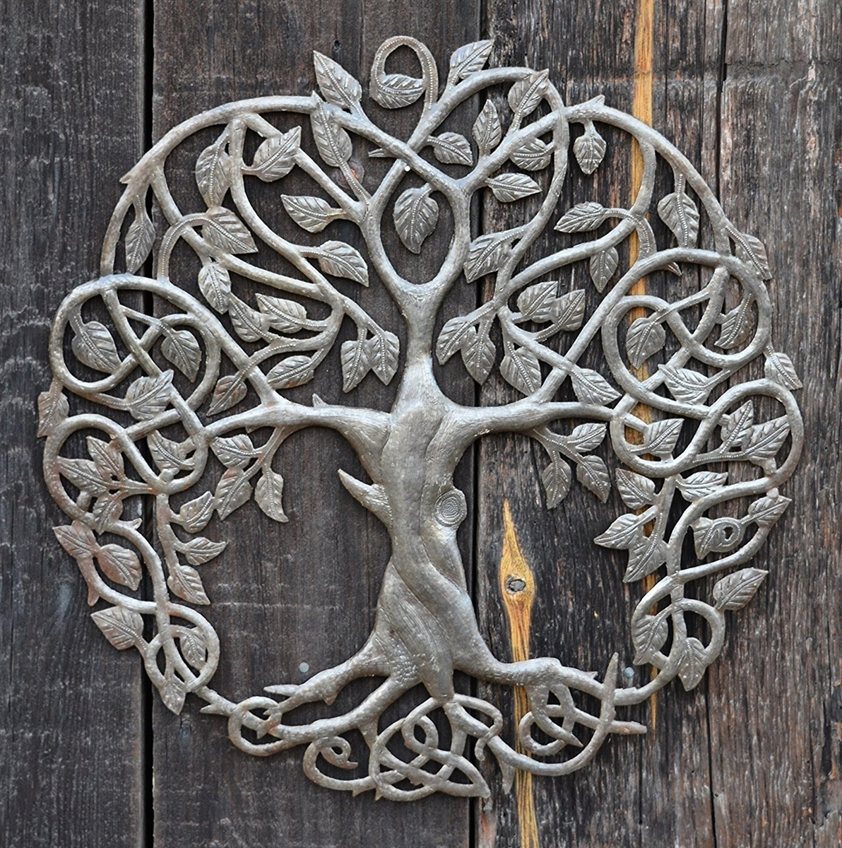 New Design Celtic Inspired Tree Of Life, Metal Wall Art, Fair Trade In Tree Of Life Metal Wall Art (Photo 18 of 20)