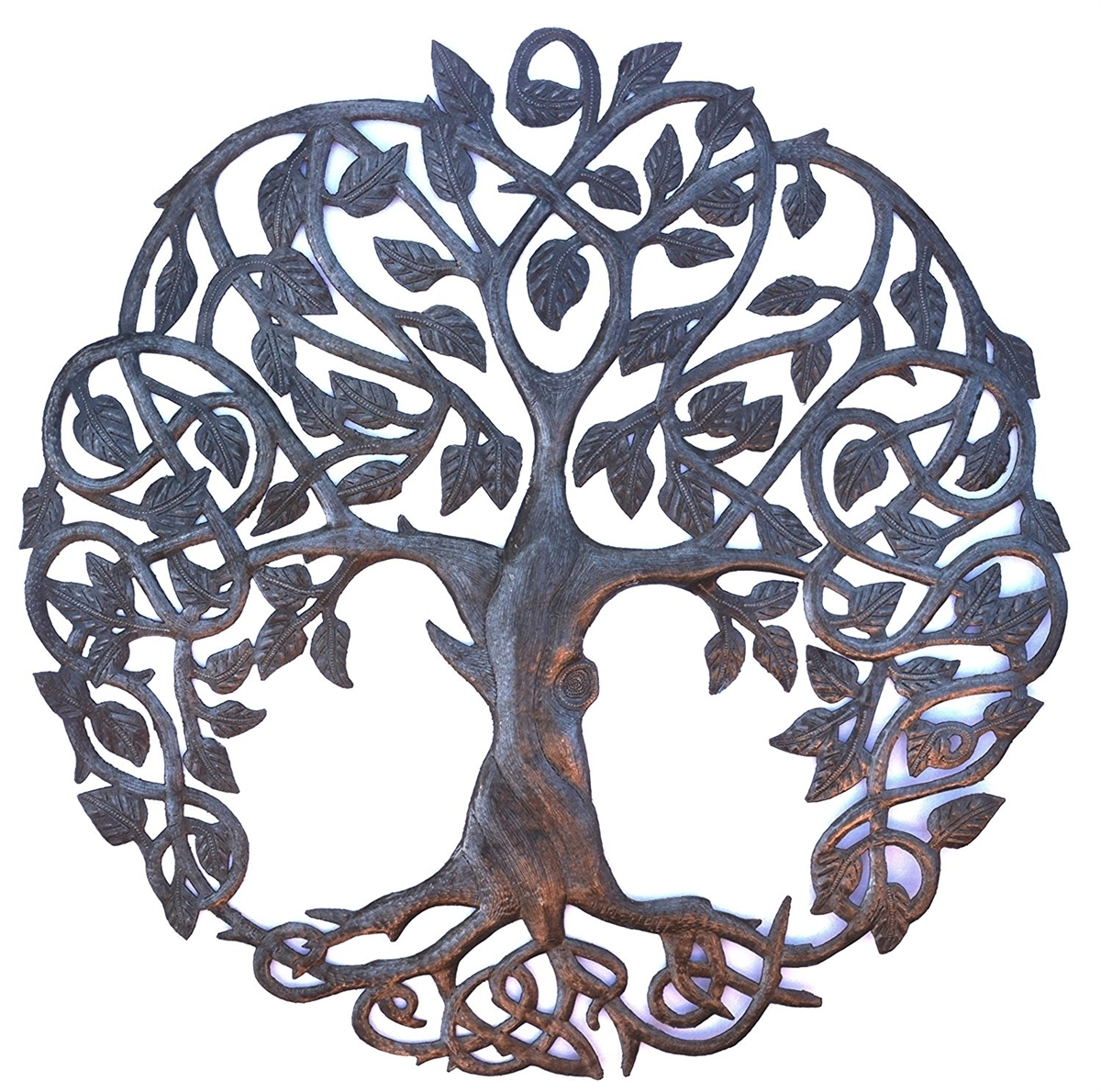 New Design Celtic Inspired Tree Of Life, Metal Wall Art, Fair Trade With Tree Of Life Wall Art (Photo 13 of 20)