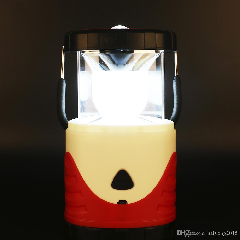 New Lantern Led Camping Lantern Usb Charging Colorful Stage Charging With Colorful Outdoor Lanterns (Photo 12 of 20)