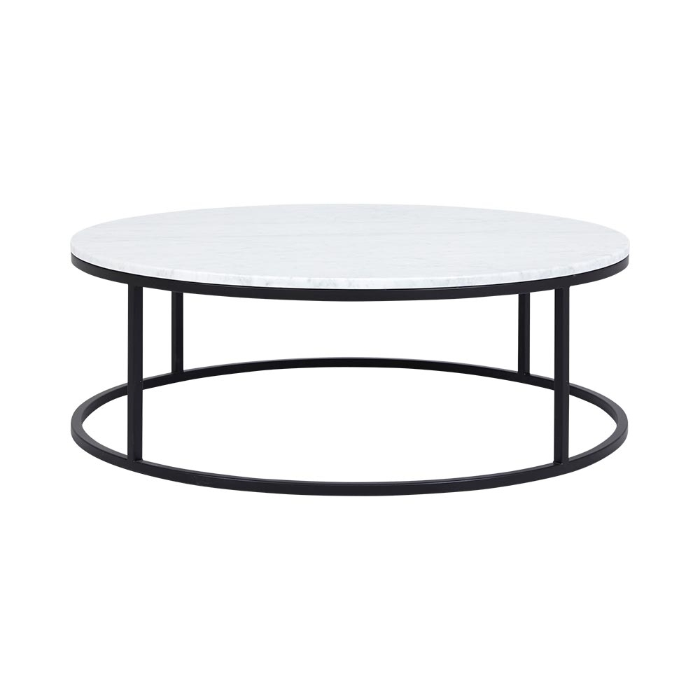 New Marble Coffee Table Within Rosa Modern Black Brushed Gold for Alcide Rectangular Marble Coffee Tables (Image 14 of 30)