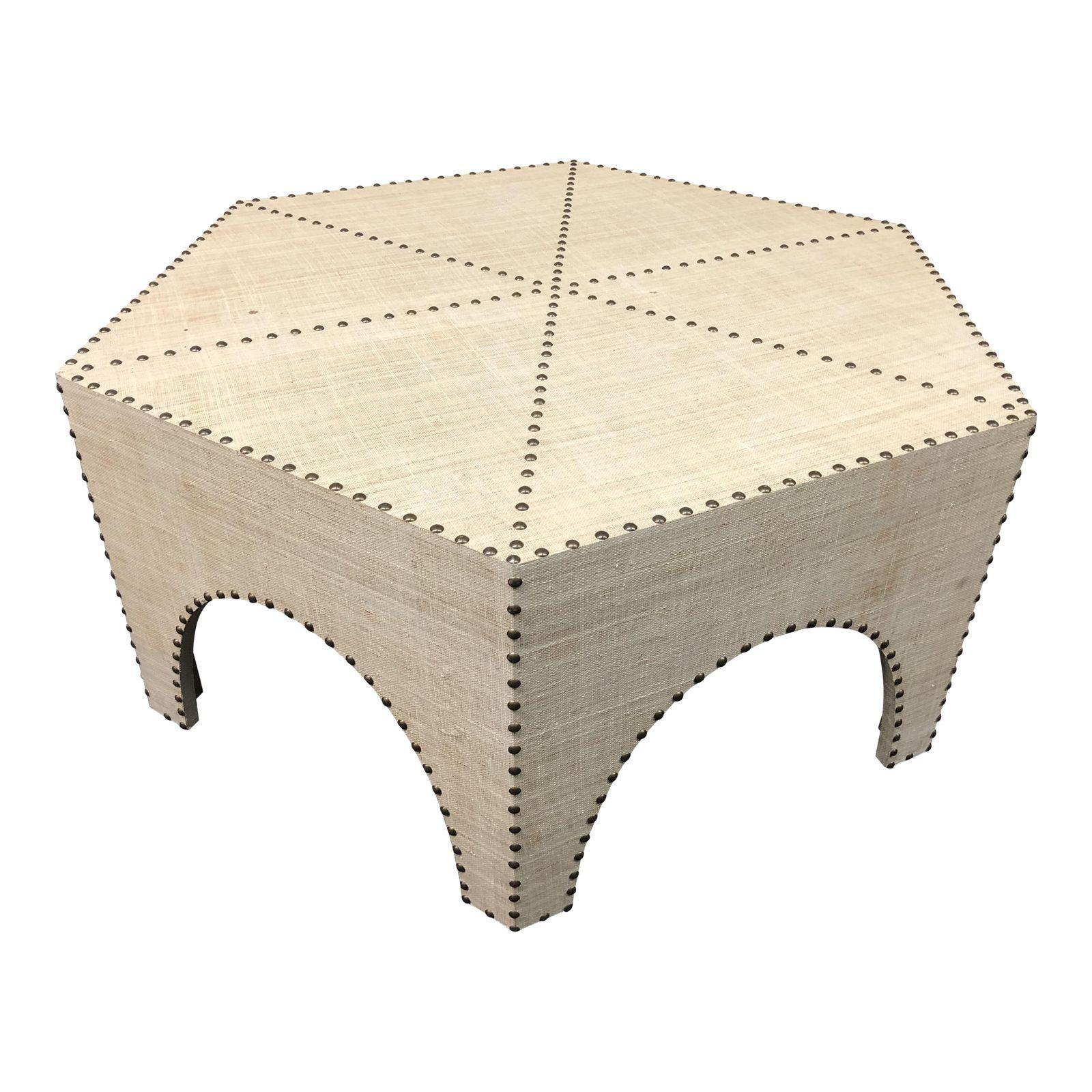 New Palecek Casablanca Raffia Coffee Table - Design Plus Gallery regarding Casablanca Coffee Tables (Image 23 of 30)