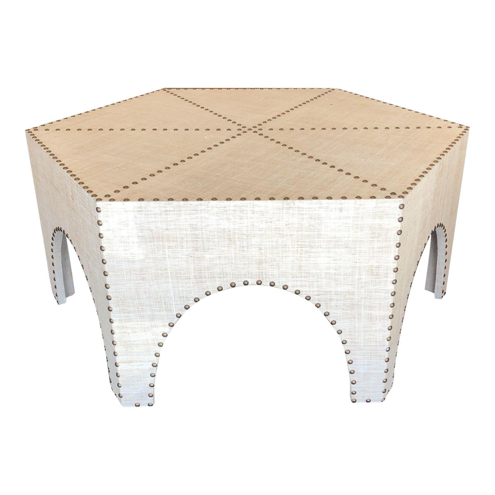 New Palecek Casablanca Raffia Coffee Table – Design Plus Gallery Throughout Casablanca Coffee Tables (View 10 of 30)