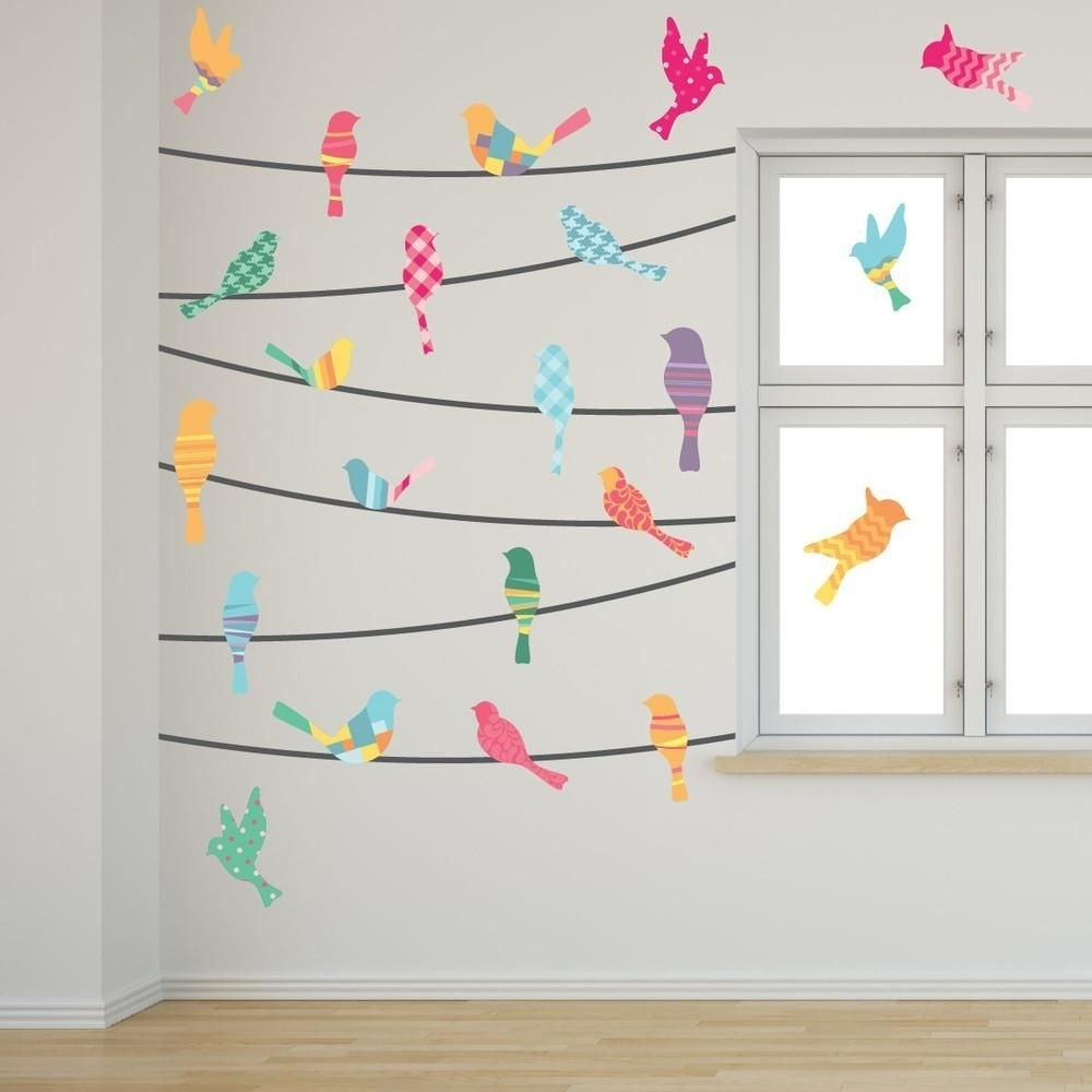 New Wall Art Birds On Wire Collection | Wall Decoration 2018 Within Birds On A Wire Wall Art (Photo 6 of 20)