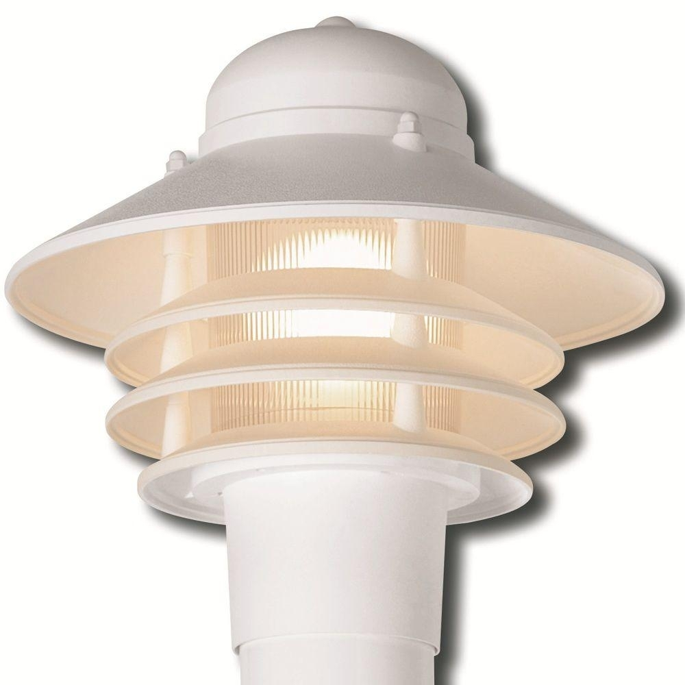 Newport Coastal Dunbar Nautical White Outdoor Post Light 7982 21W Regarding Gold Coast Outdoor Lanterns (Photo 5 of 20)