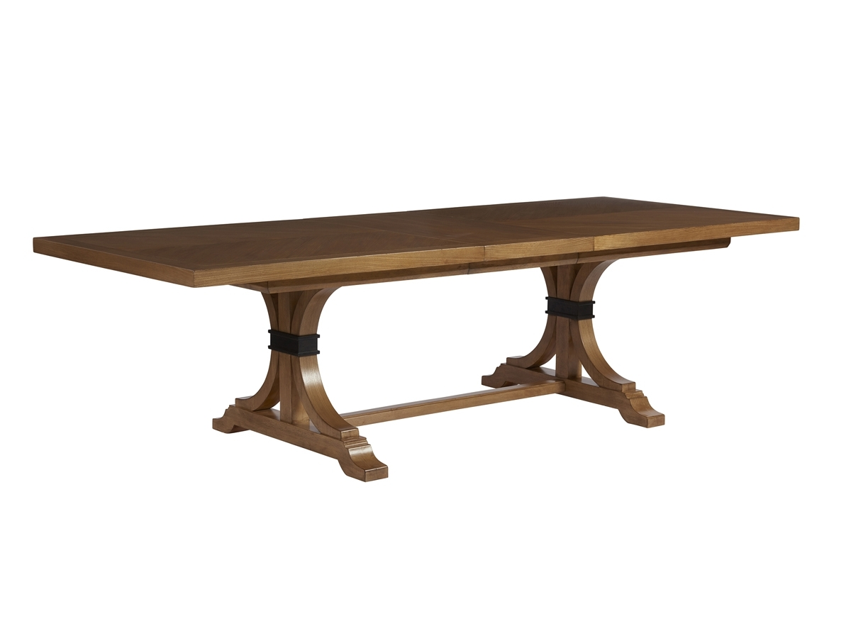 Newport Oceanfront Rectangular Dining Table | Lexington Home Brands Throughout Element Ivory Rectangular Coffee Tables (View 21 of 30)