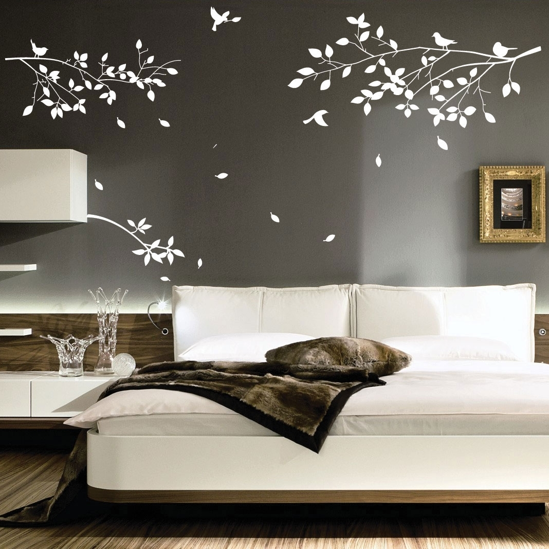 Nice Decoration Bedroom Wall Art Decor 7 Beauteous Ideas Home Within Wall Art For Bedroom (Photo 3 of 20)