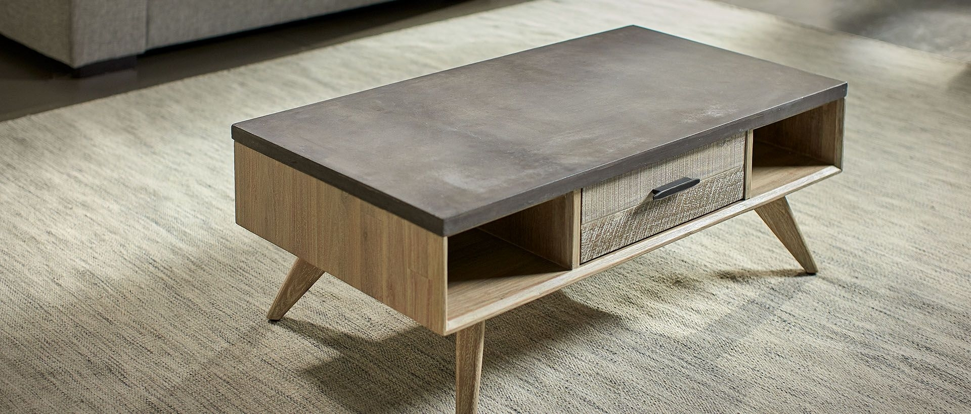 Nick Scali | Coffee & Lamp Tables | Nick Scali Furniture In Joni Brass And Wood Coffee Tables (Photo 13 of 30)