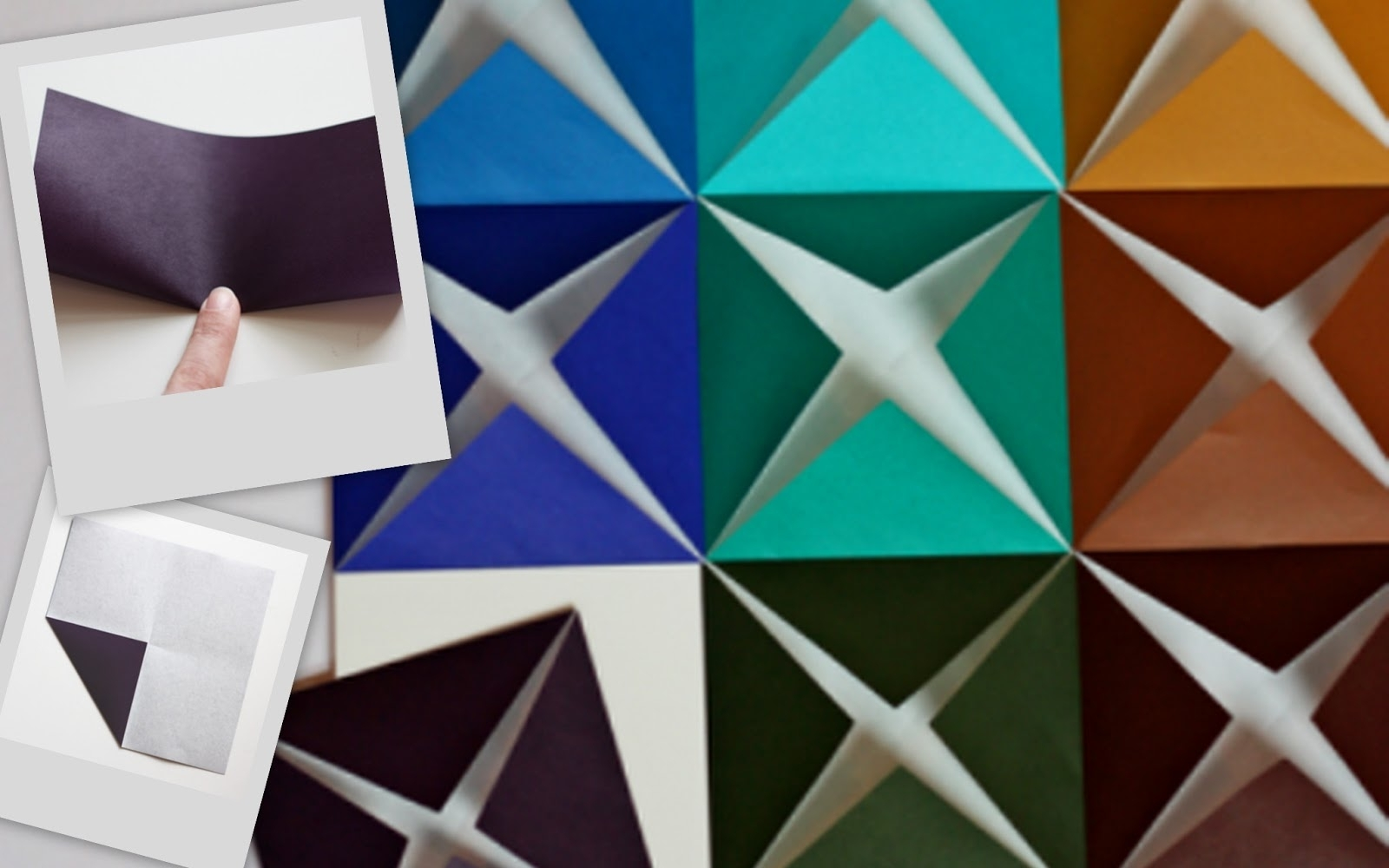 Nine Red: How To: 3 D Paper Wall Art For Paper Wall Art (Photo 14 of 20)
