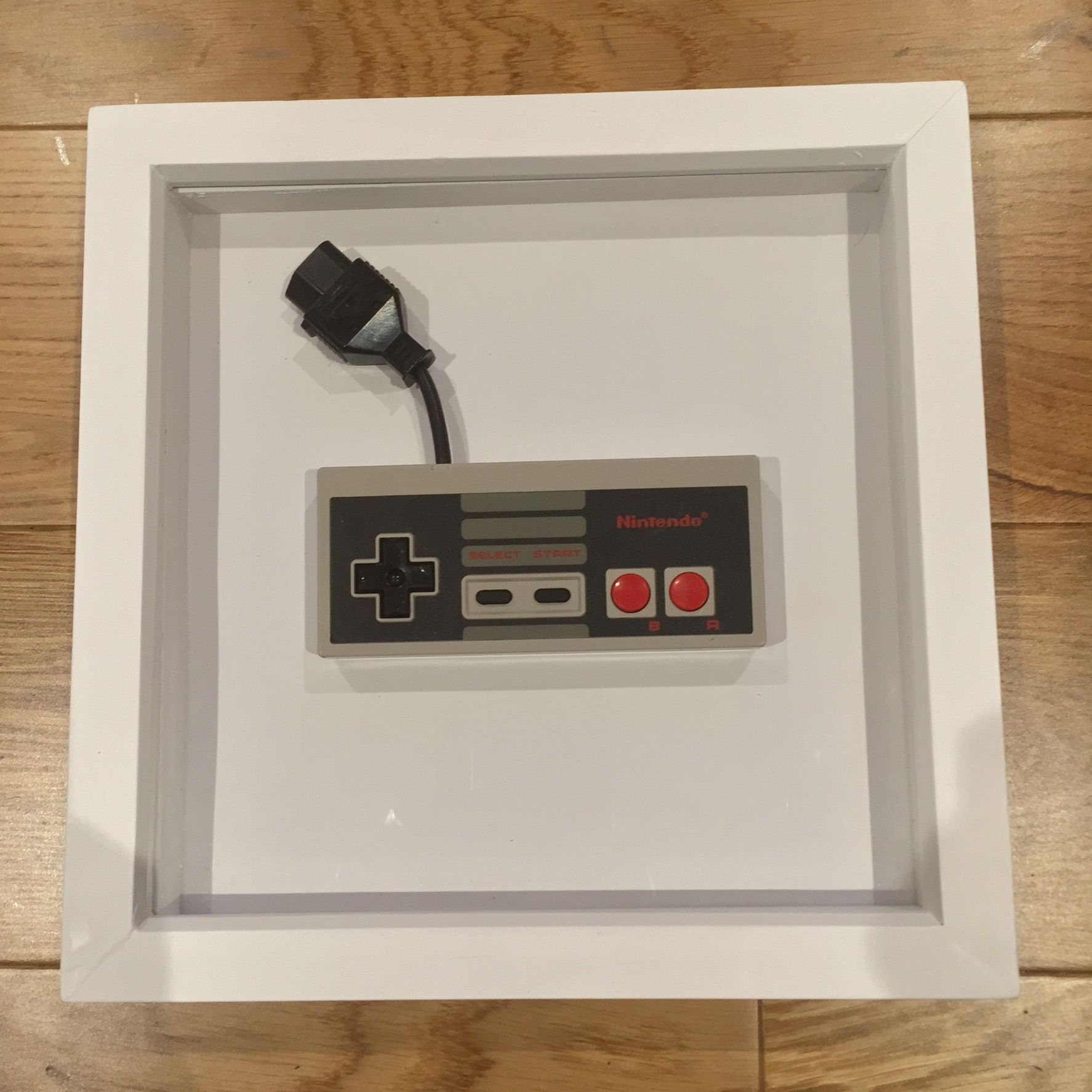 Nintendo Nes Controller Framed (Cool Retro Wall Art, Nintendo Wall With Nintendo Wall Art (Photo 9 of 20)