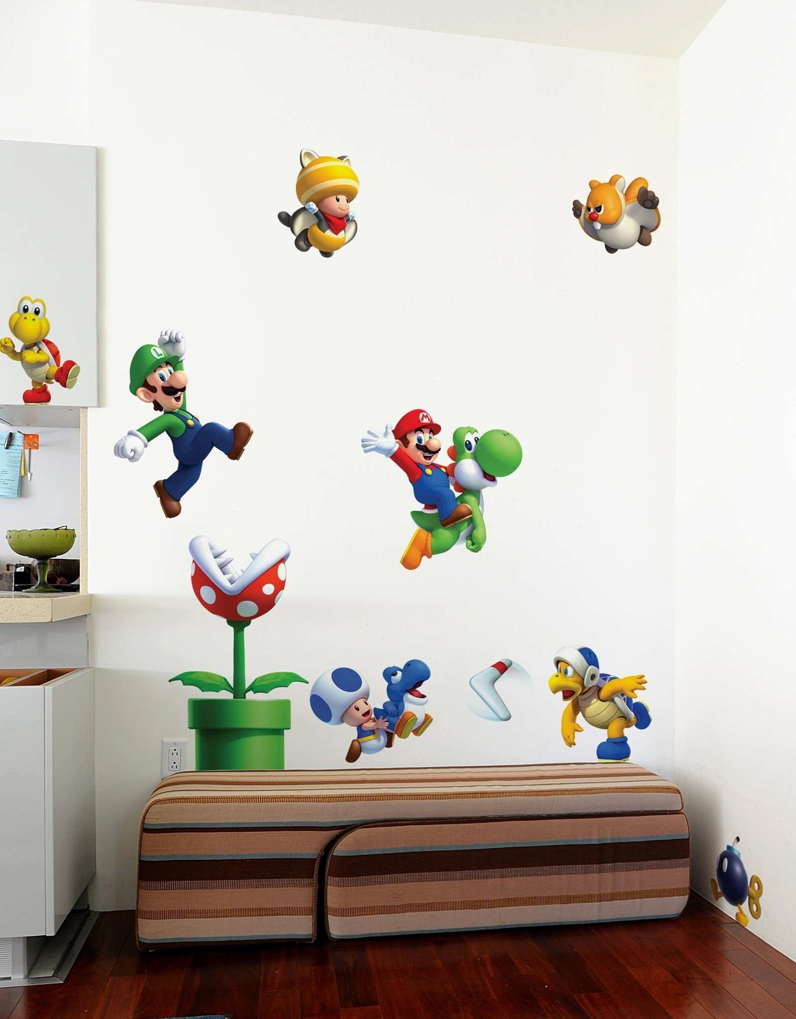 Nintendo Wall Art Awesome Mario Stickers For Walls Gallery Home In Nintendo Wall Art (Photo 10 of 20)