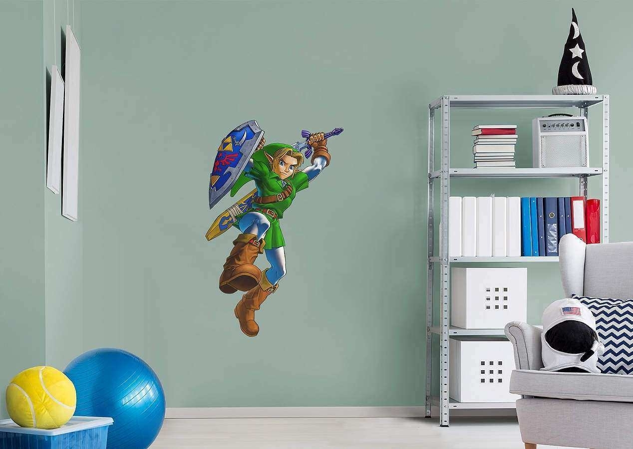 Nintendo Wall Art Best Of Link™ The Legend Of Zelda™ Wall Decal Intended For Nintendo Wall Art (Photo 6 of 20)