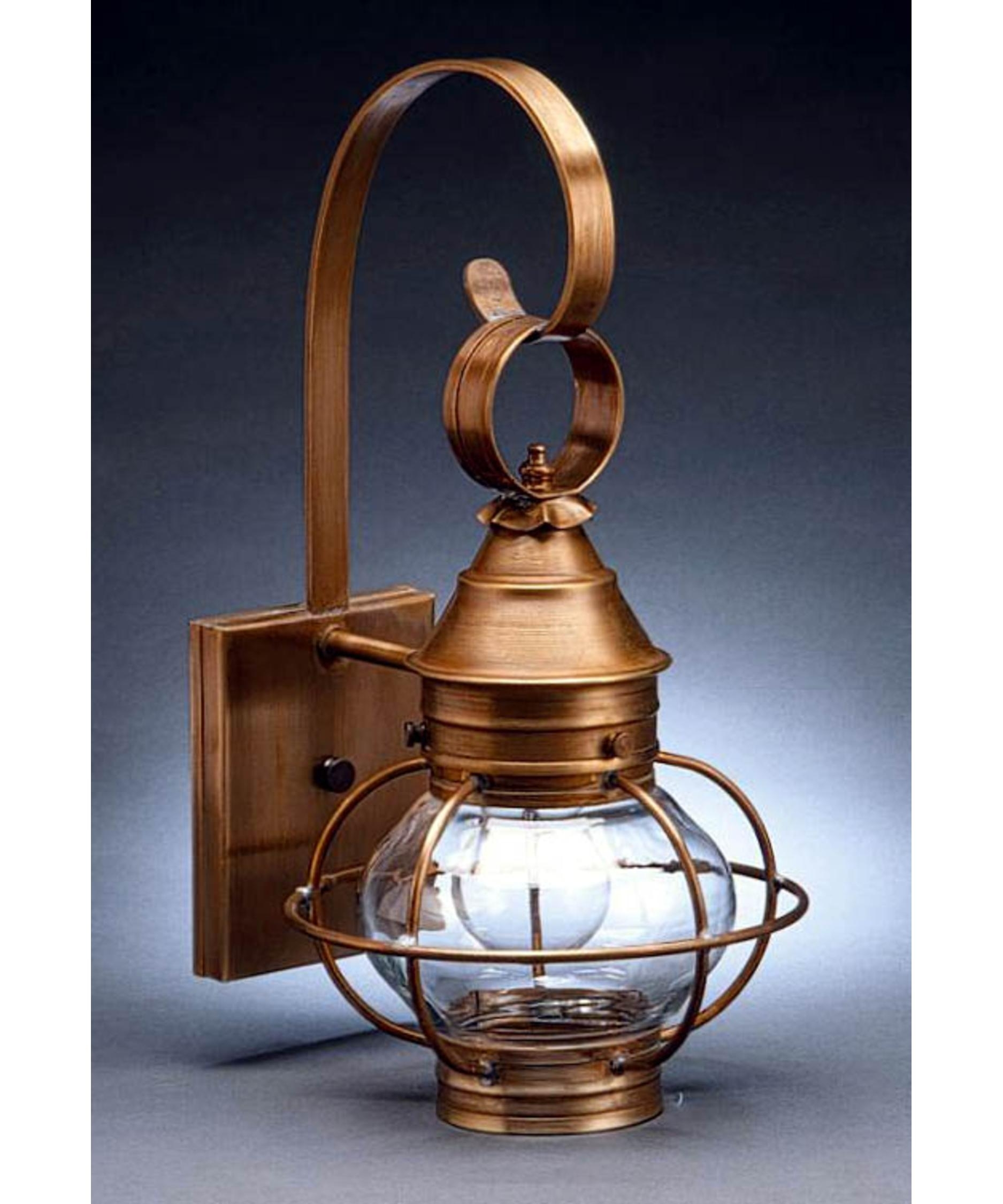 Northeast Lantern 2511-Med Onion 8 Inch Wide 1 Light Outdoor Wall with regard to Outdoor Lighting Onion Lanterns (Image 7 of 20)