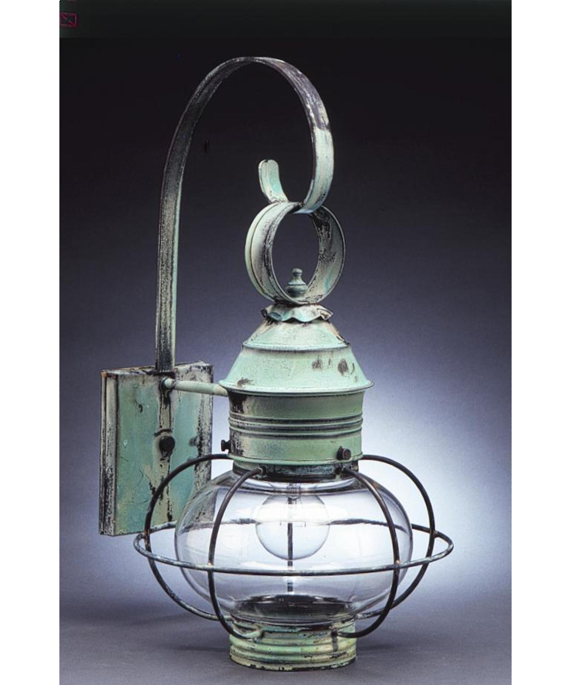 Northeast Lantern 2531-Med Onion 11 Inch Wide 1 Light Outdoor Wall pertaining to Outdoor Lighting Onion Lanterns (Image 9 of 20)
