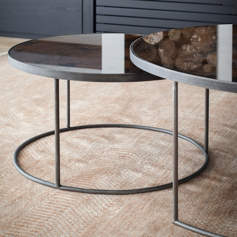 Popular Photo of Set Of Nesting Coffee Tables