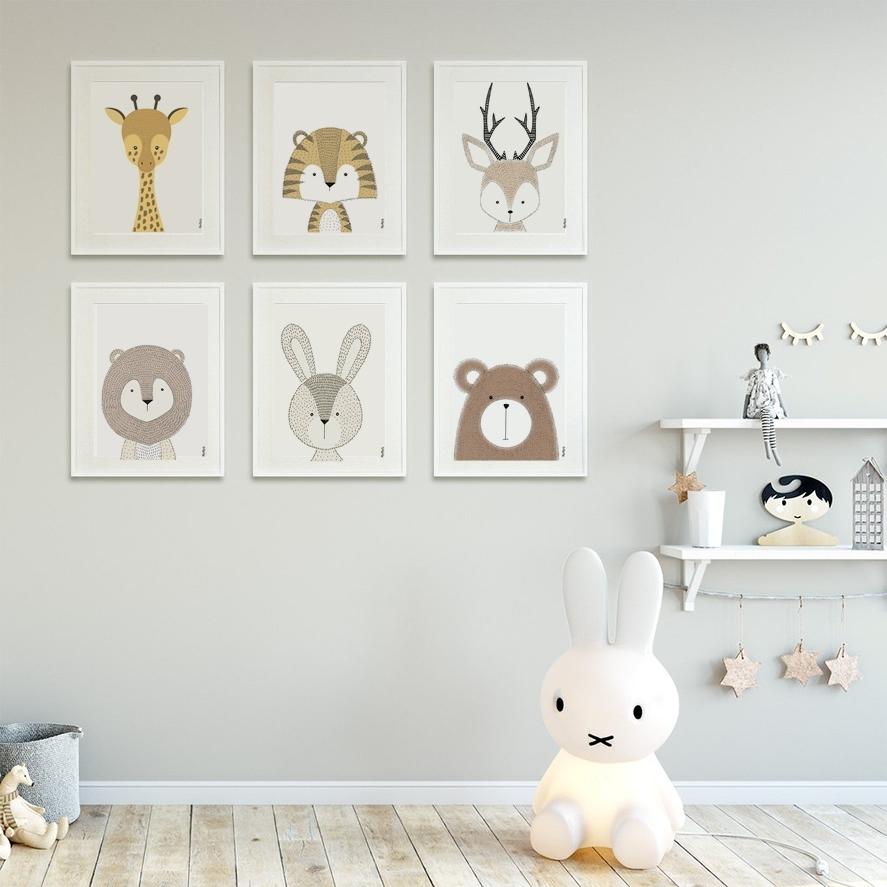 Nursery Wall Art   Bunny   Momos Malta In Bunny Wall Art (Photo 19 of 20)