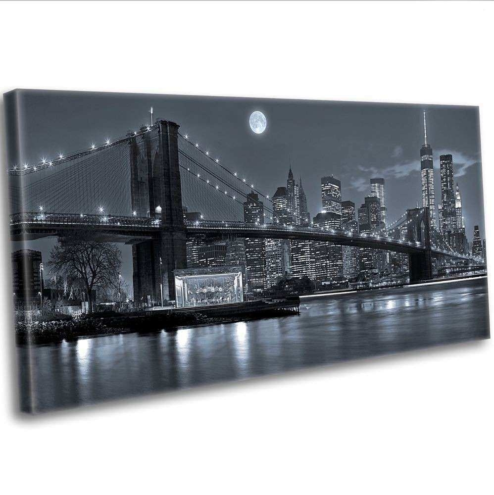 Nyc Framed Wall Art Lovely Canvas Print New York City Manhattan With Nyc Wall Art (Photo 13 of 20)