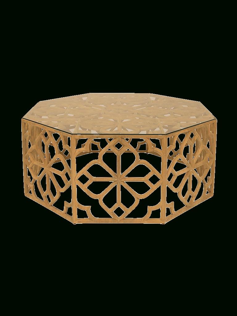Octagon Coffee Table - Writehookstudio inside Batik Coffee Tables (Image 25 of 30)