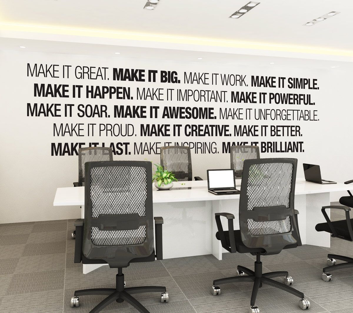 Office Wall Art - Corporate - Office Supplies - Office Decor intended for Office Wall Art (Image 9 of 20)