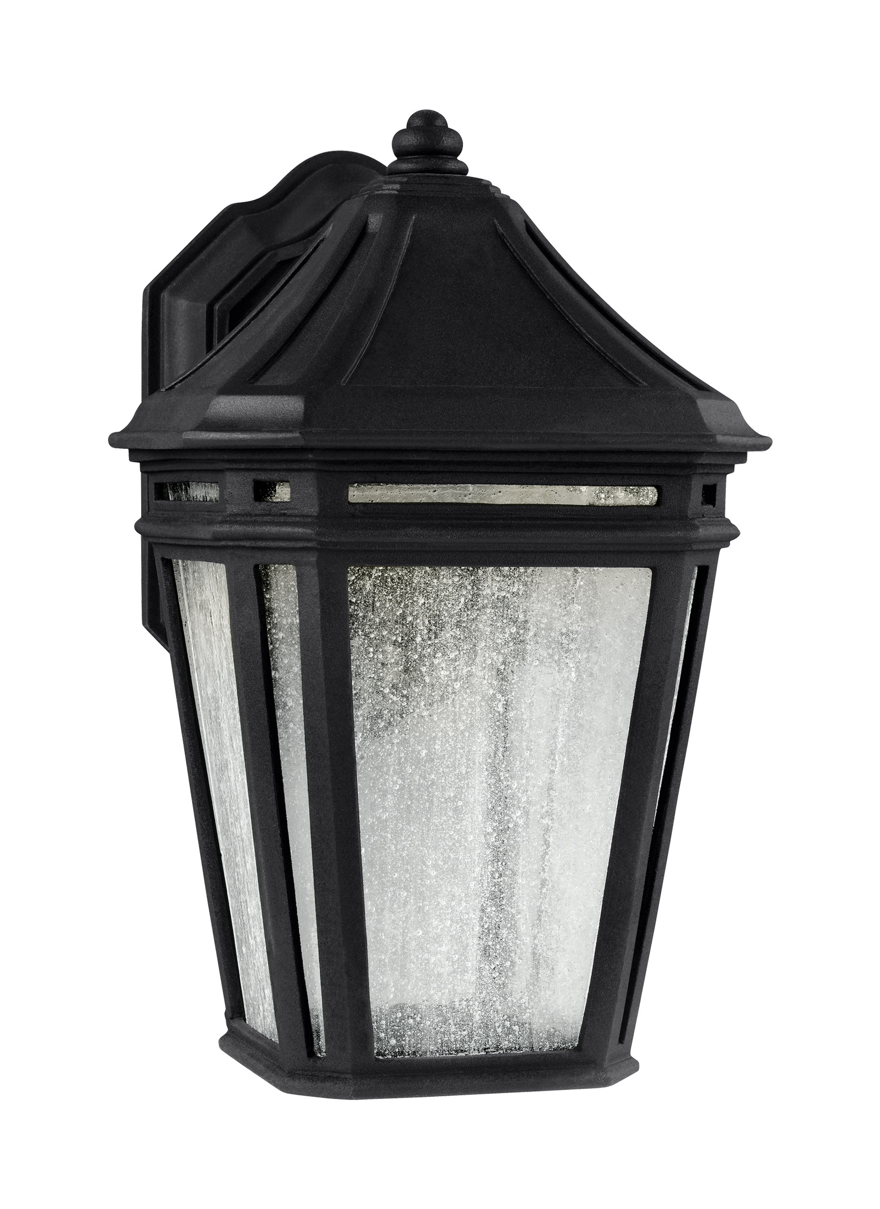 Ol11302Bk-Led,led Outdoor Sconce,black with regard to Outdoor Exterior Lanterns (Image 13 of 20)
