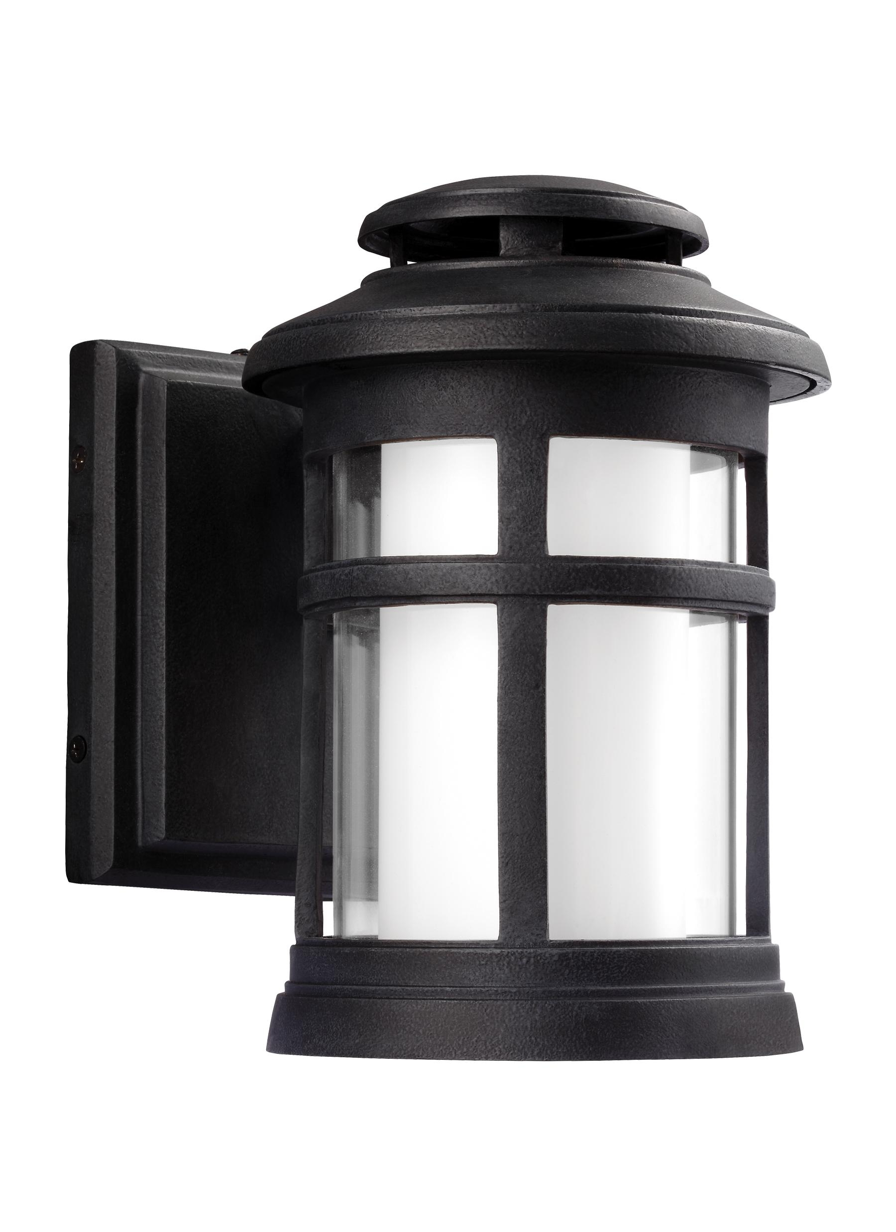 Ol12500Dwz-Led,1 - Light Outdoor Wall Lantern,dark Weathered Zinc regarding Zinc Outdoor Lanterns (Image 16 of 20)