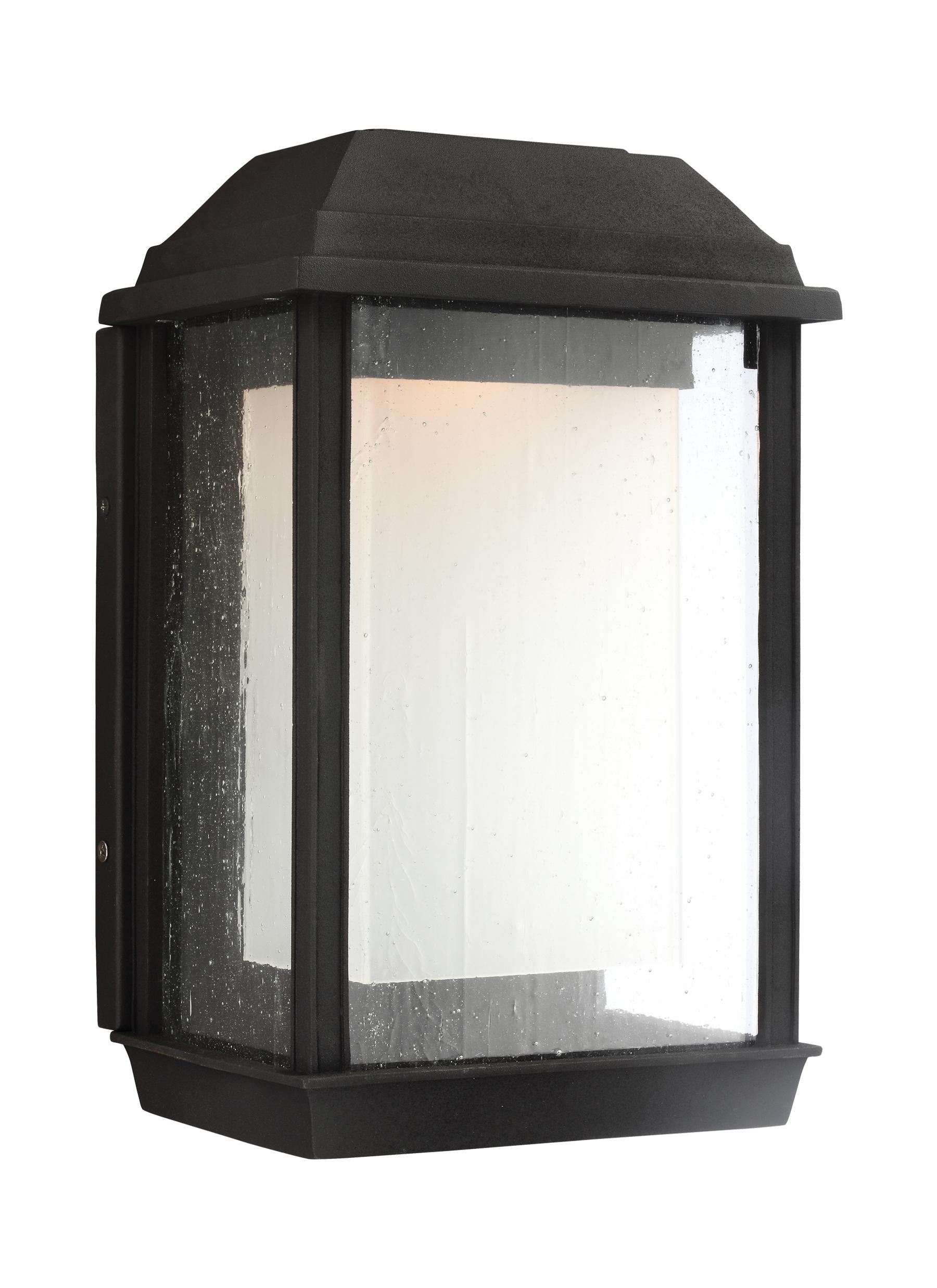 Ol12801Txb-Led,1 - Light Outdoor Led Wall Lantern,textured Black inside Outdoor Gazebo Lanterns (Image 12 of 20)