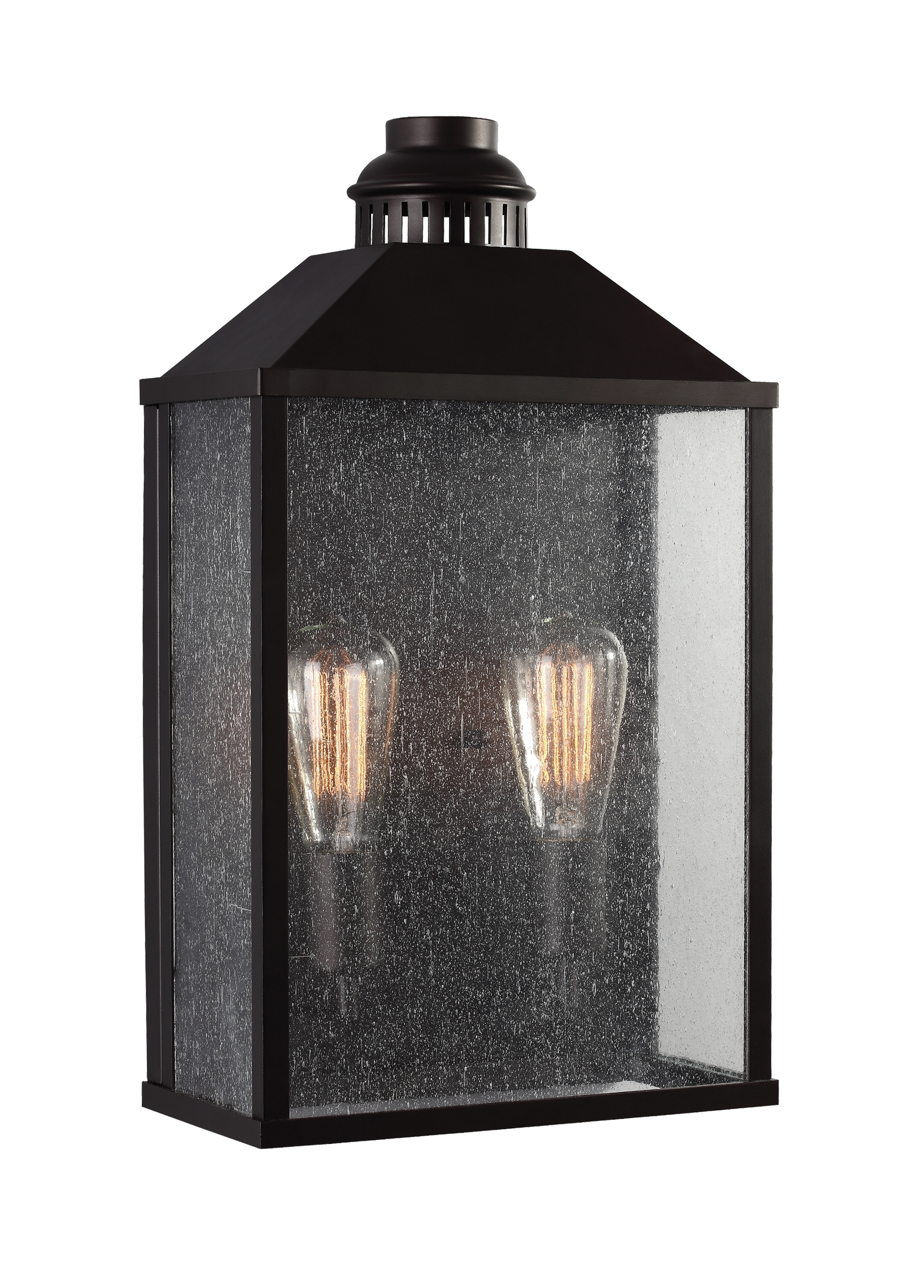 Ol18011Orb,2 - Light Outdoor Wall Sconce,oil Rubbed Bronze intended for Outdoor Oil Lanterns for Patio (Image 8 of 20)