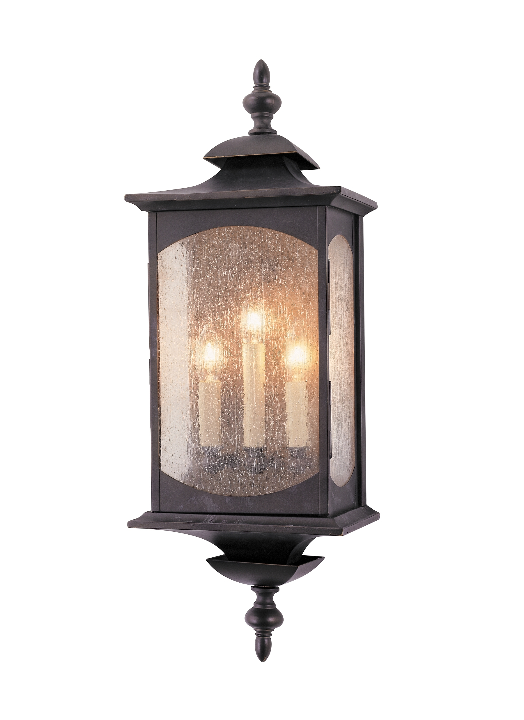 Ol2602Orb,3 - Light Wall Lantern,oil Rubbed Bronze intended for Outdoor Oil Lanterns for Patio (Image 9 of 20)