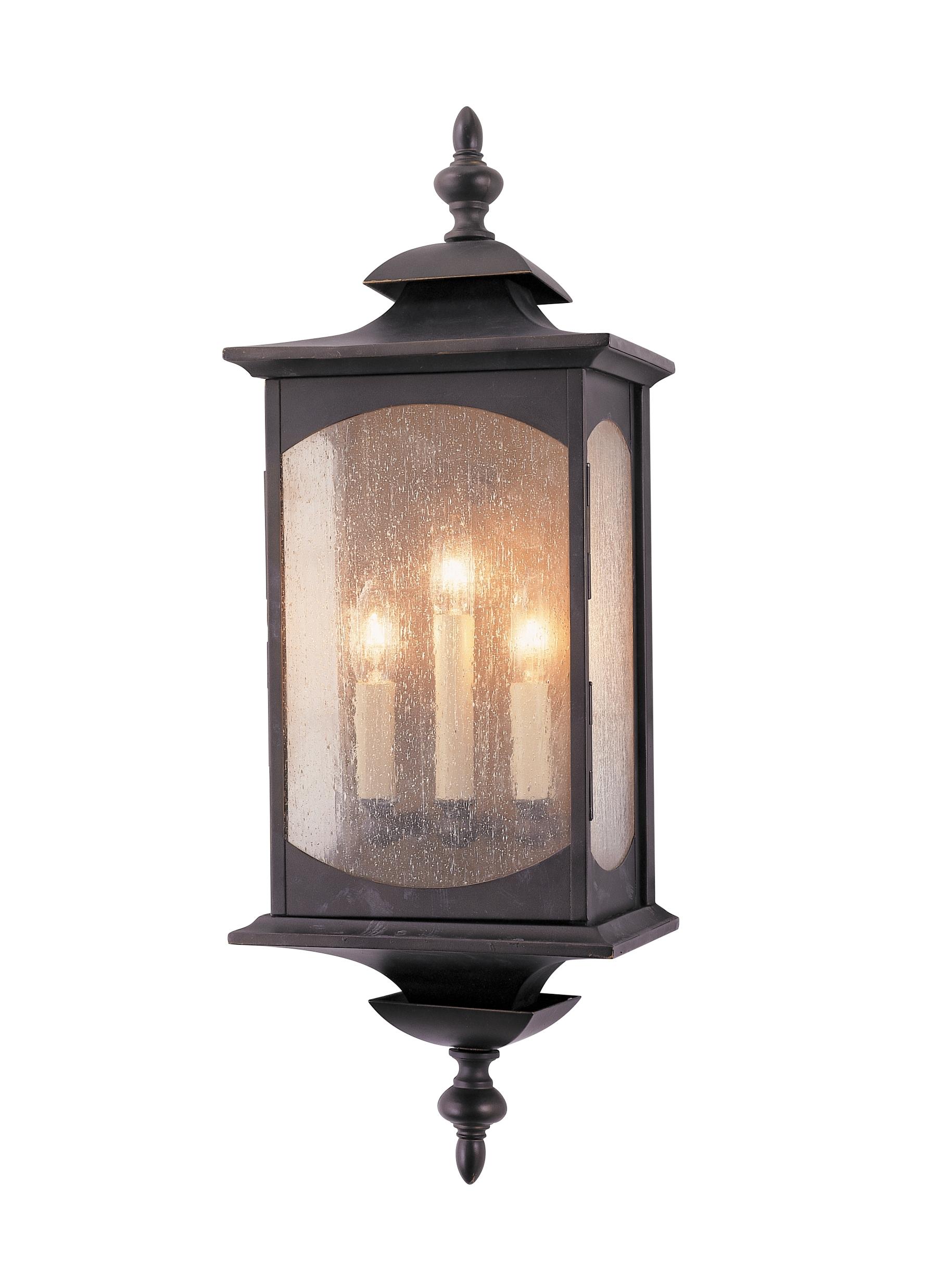 Ol2602Orb,3 - Light Wall Lantern,oil Rubbed Bronze regarding Outdoor Oil Lanterns (Image 11 of 20)