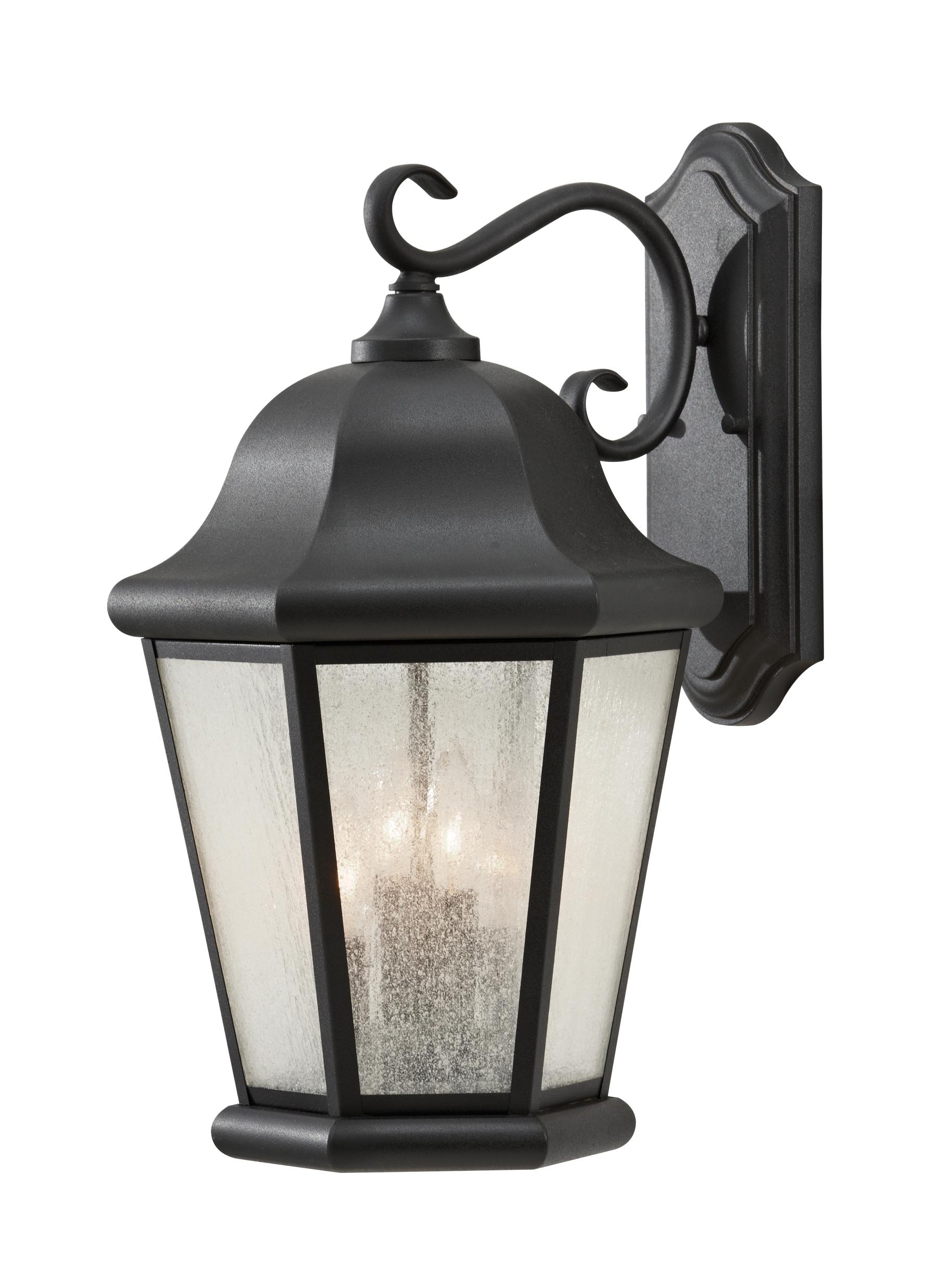 Ol5904Bk,4-Light Outdoor Lantern,black throughout Outdoor Lanterns on Stands (Image 7 of 20)